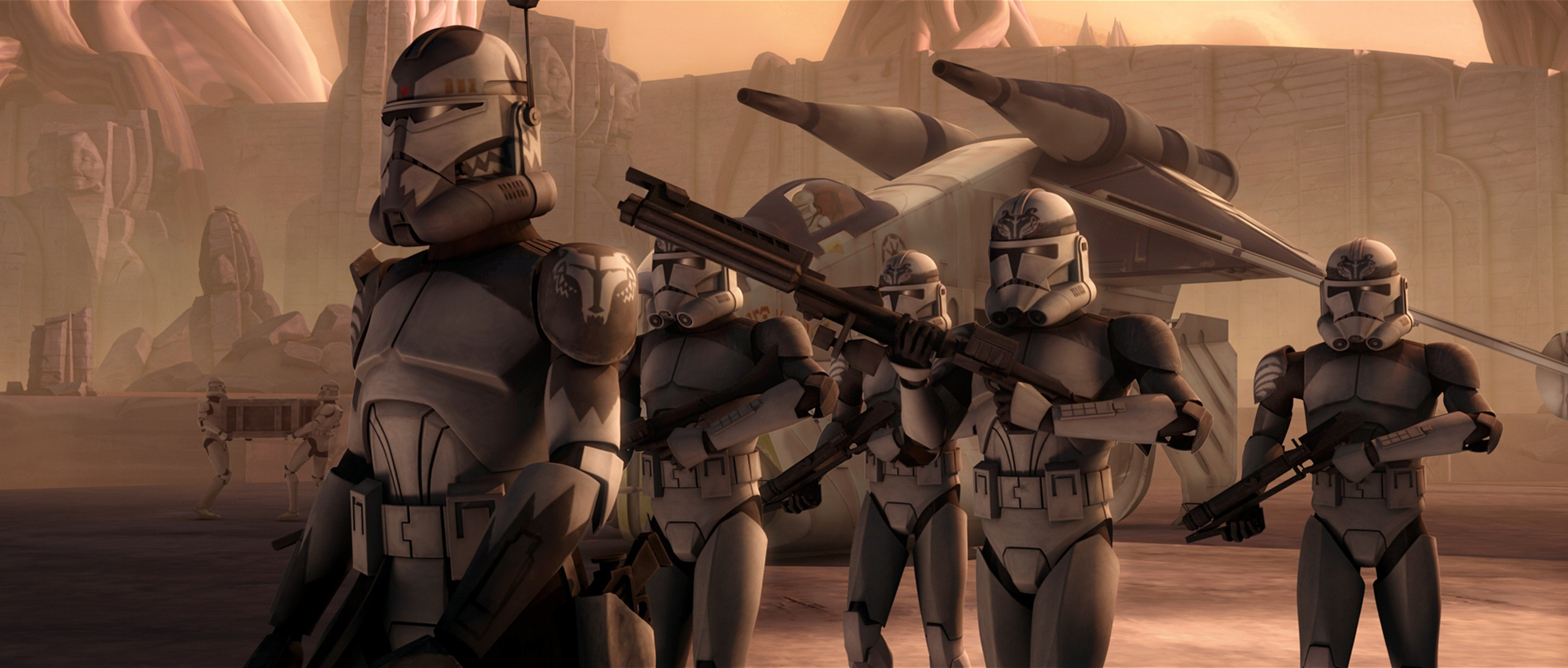 3600x1533 Star Wars, Clone Trooper Wallpapers HD / Desktop and Mobile .