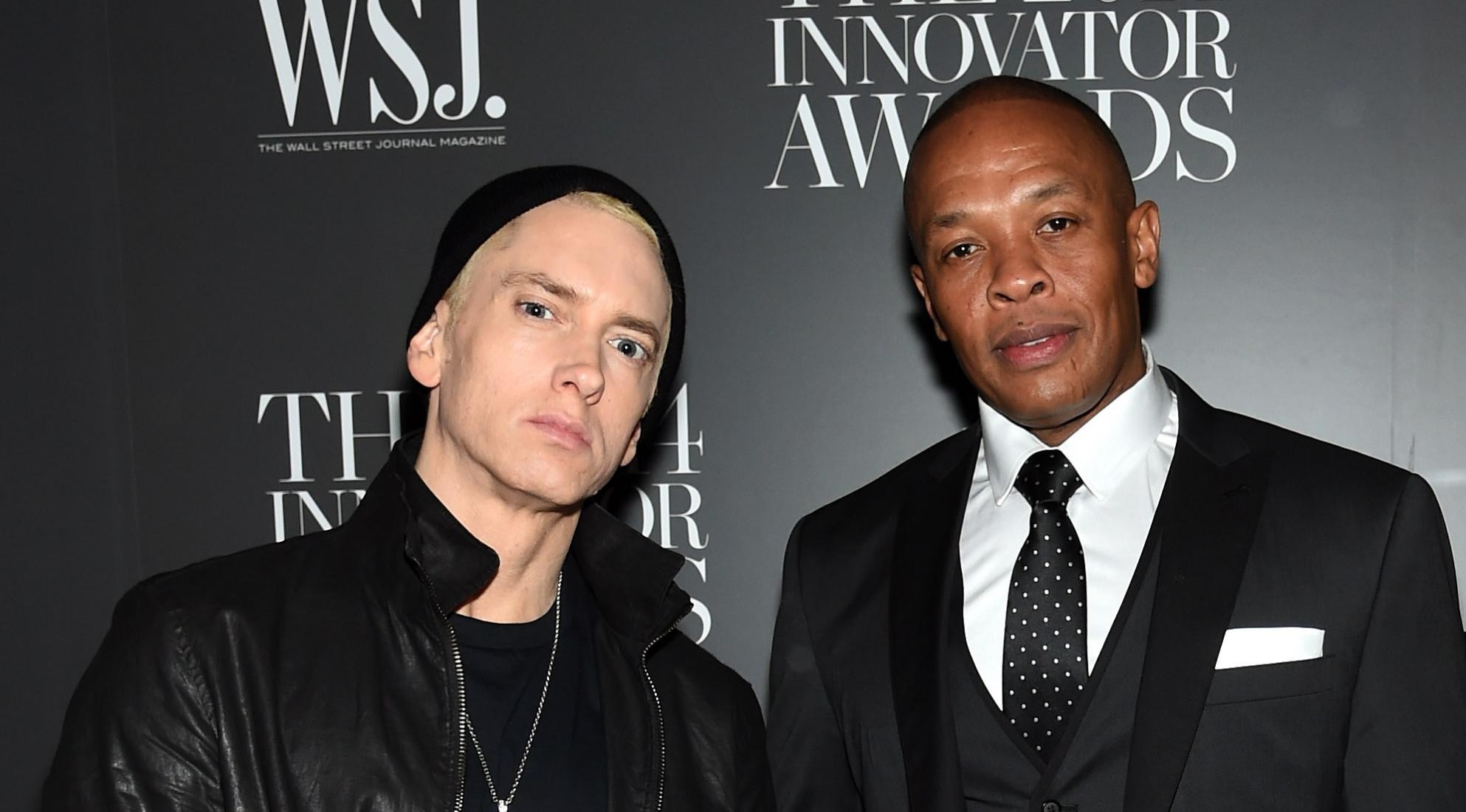 1986x1100 Eminem and Dr. Dre in 2014