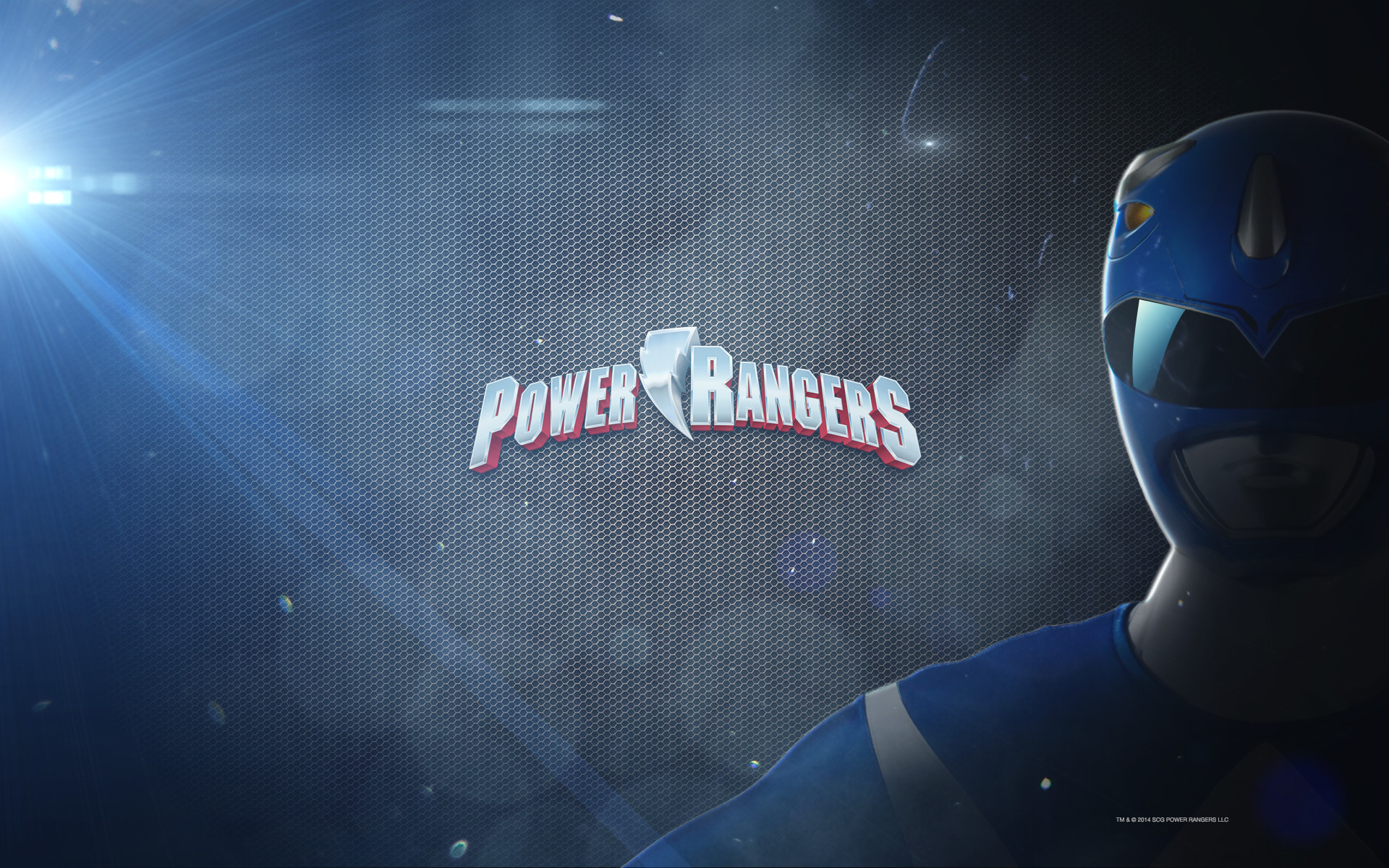 1920x1200 Power Rangers Wallpaper: Mighty Megaforce Blue |Fun Desktop .