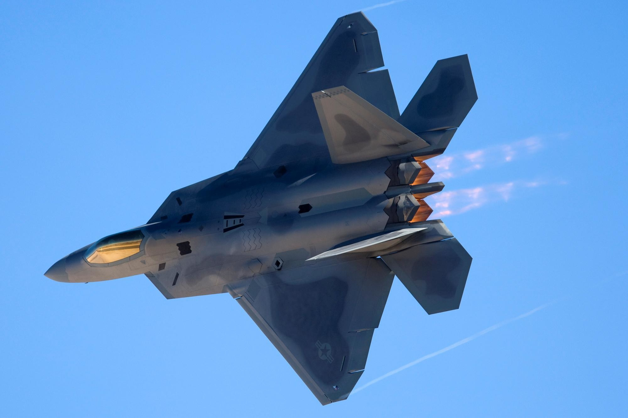 2000x1333 Download F 22 Raptor At Nellis Afb High quality wallpaper