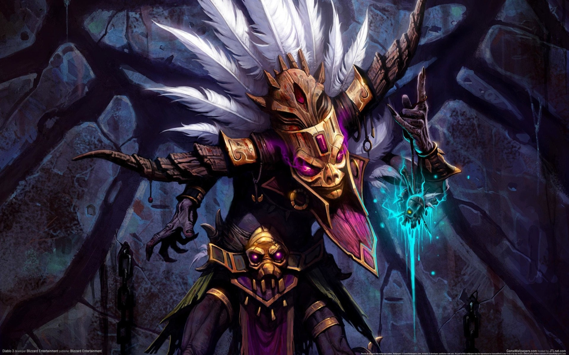 "1920x1200 Search Results for ""diablo 3 witch doctor iphone wallpaper"" – Adorable  Wallpapers"