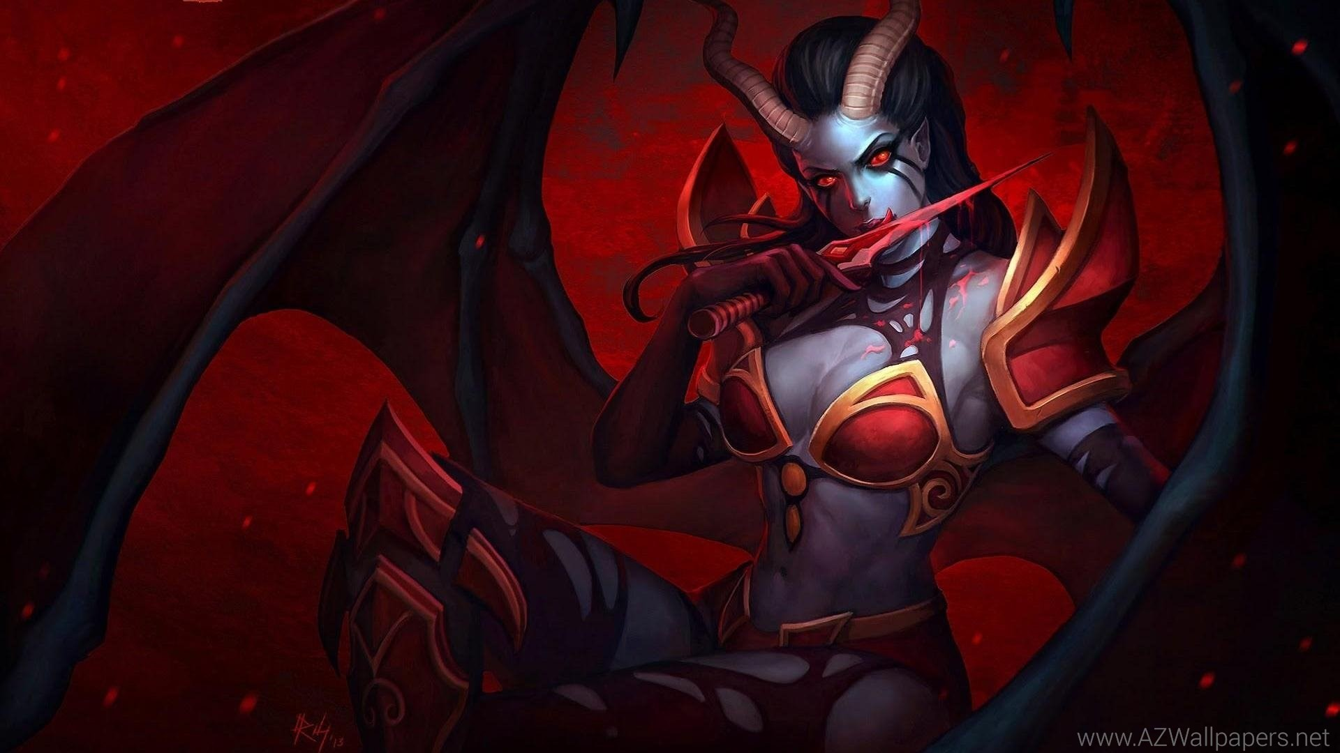 1920x1080 Succubus Dota 2 HD Wallpapers, Desktop Backgrounds, Mobile .