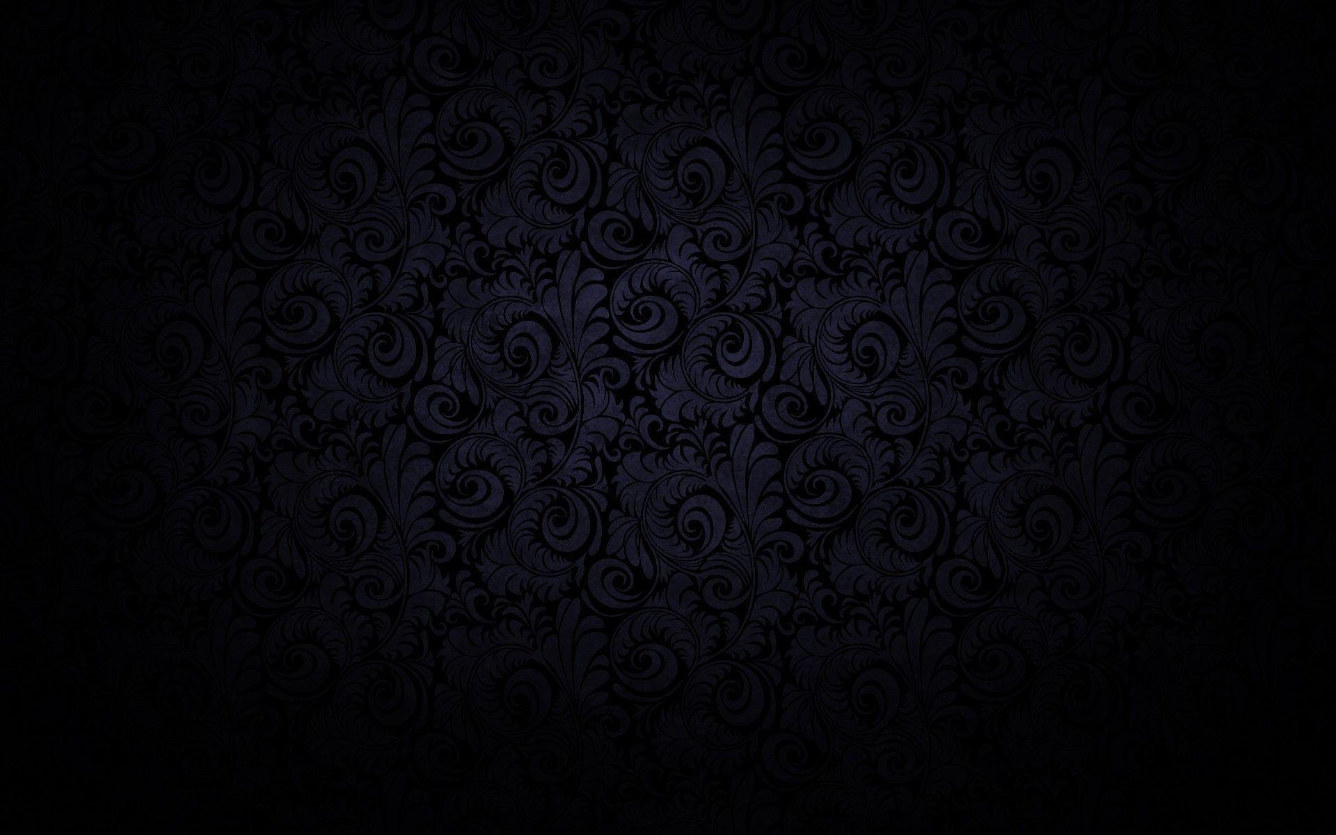 1920x1200 Pretty Black Patterns Background Wallpaper HD