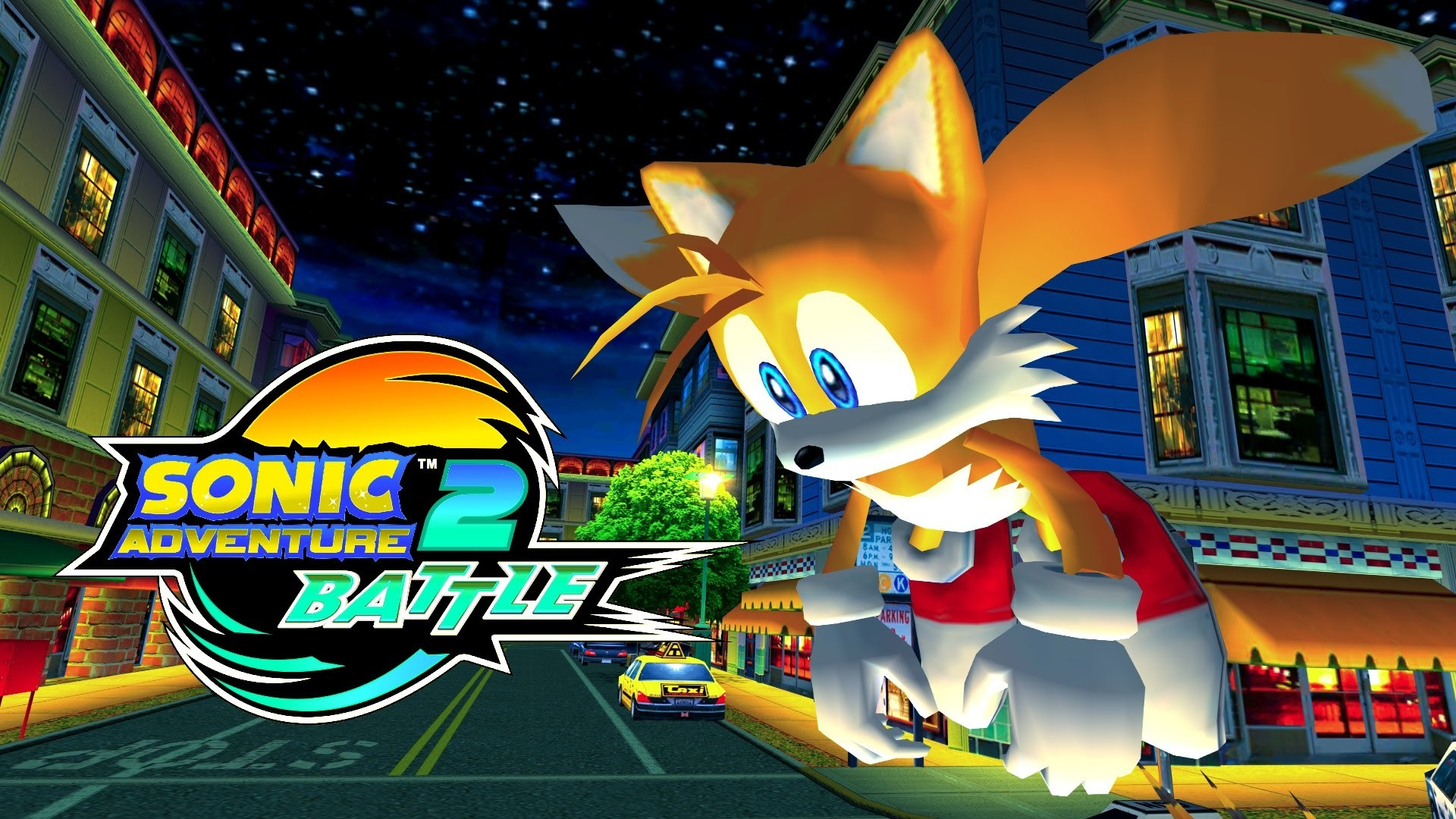 1920x1080 Sonic Adventure 2: Battle - Mission Street - MECHLESS TAILS [REAL Full HD,  Widescreen] 60 FPS - YouTube