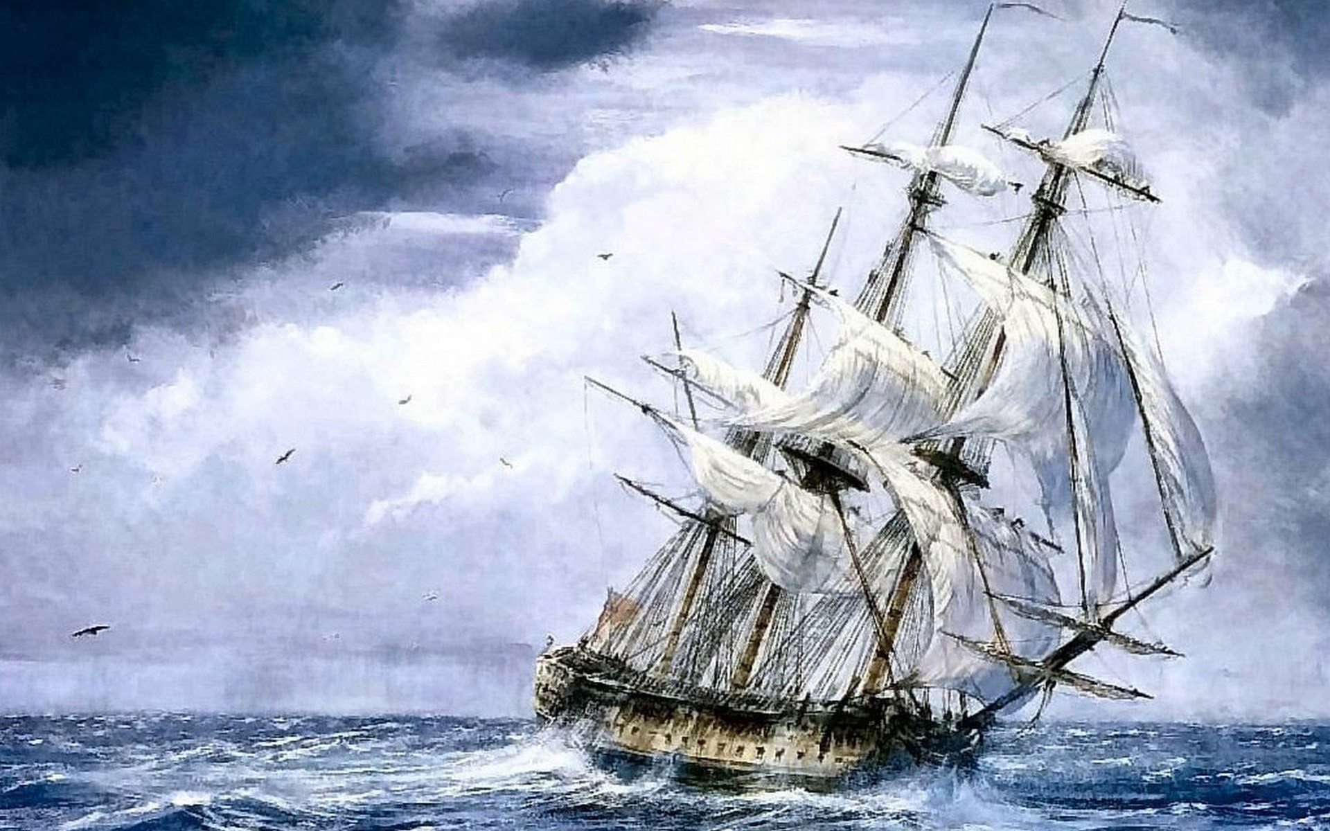 1920x1200 Ships Sail Wallpaper  Ships, Sail, Ship, Sails
