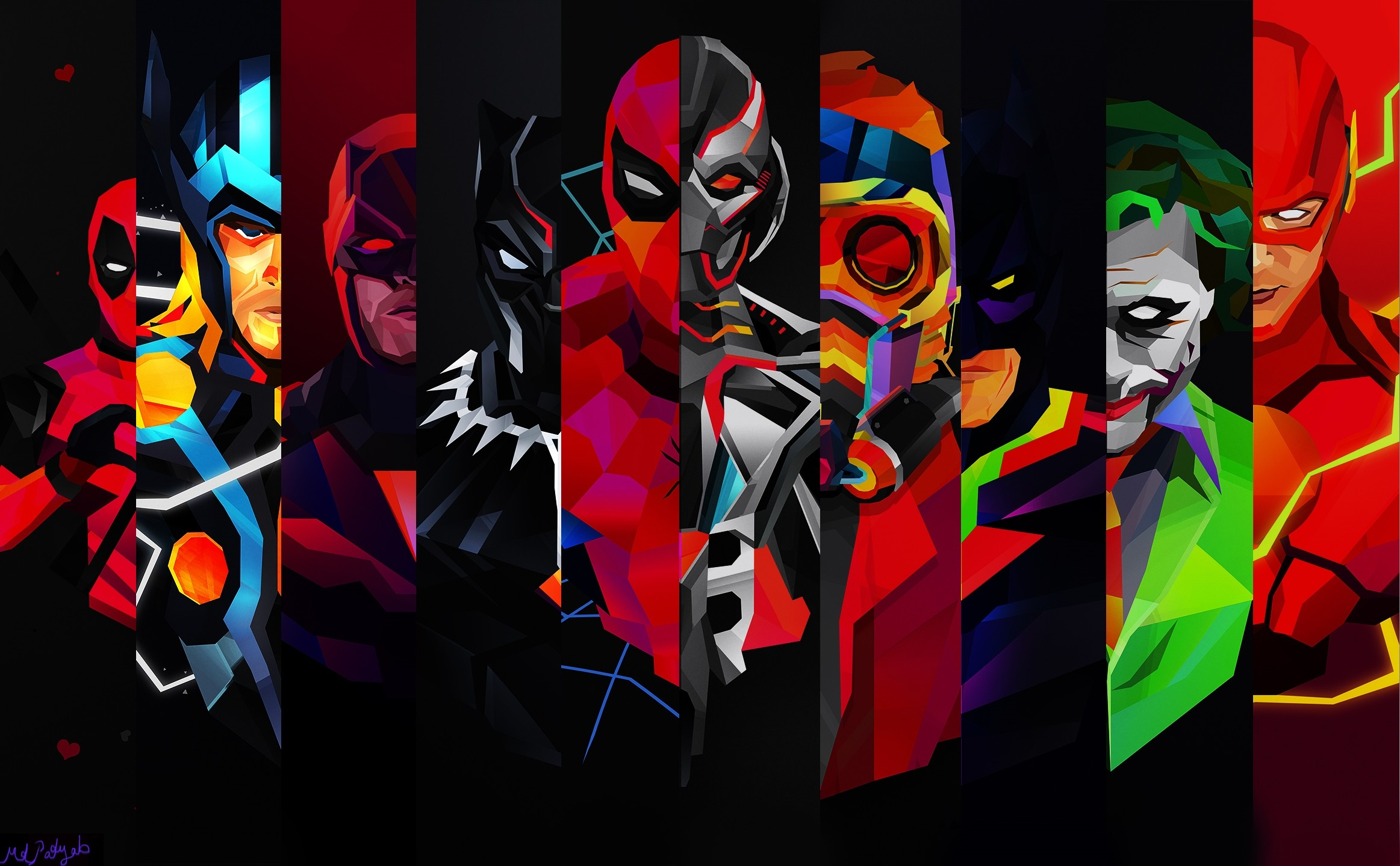 2325x1440 ... Cool Superhero Wallpapers 705204 ...