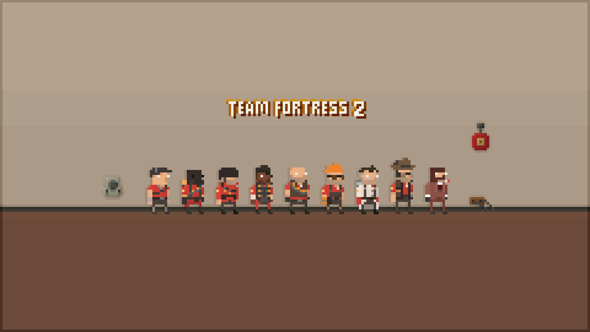 1920x1080 Games wallpaper gaming pixelated team fortress 2