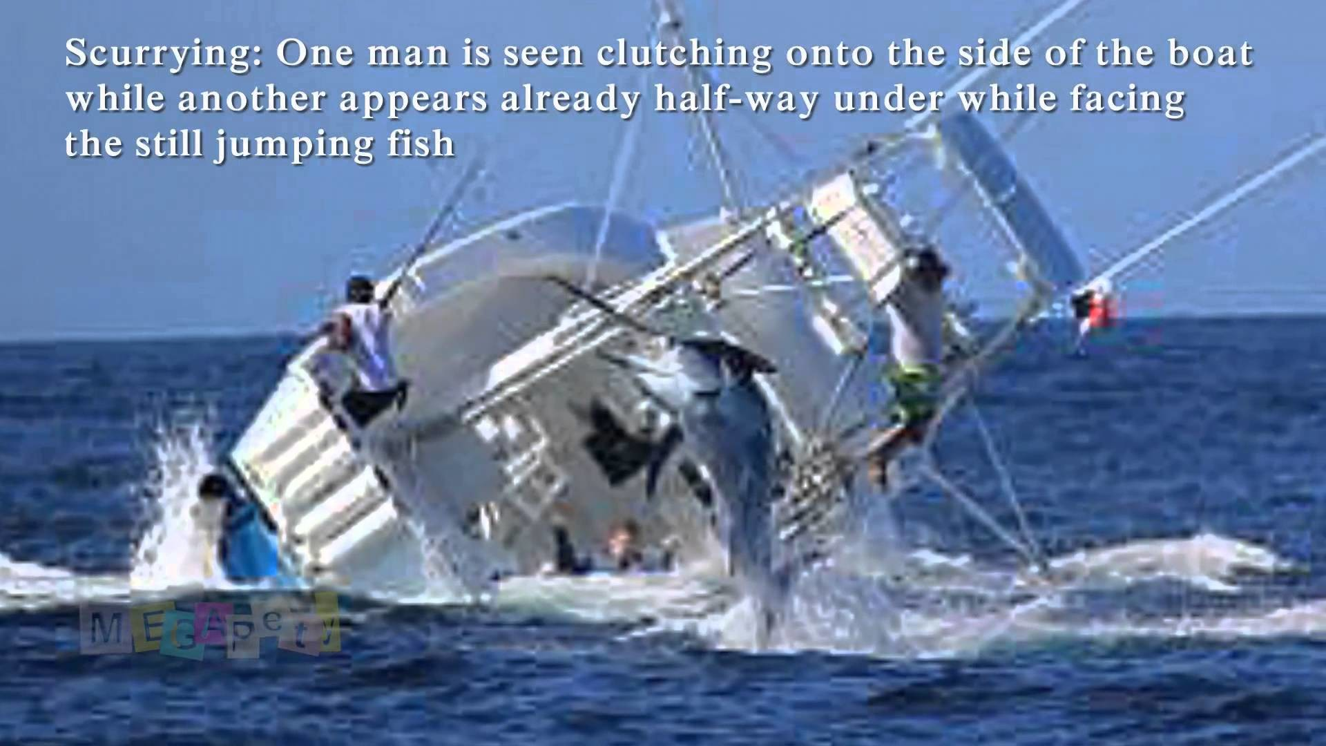 1920x1080 Marlin Sinks Fishing Boat. Vessel Capsizes After Hooking Huge Fish  [Reuploaded] - YouTube