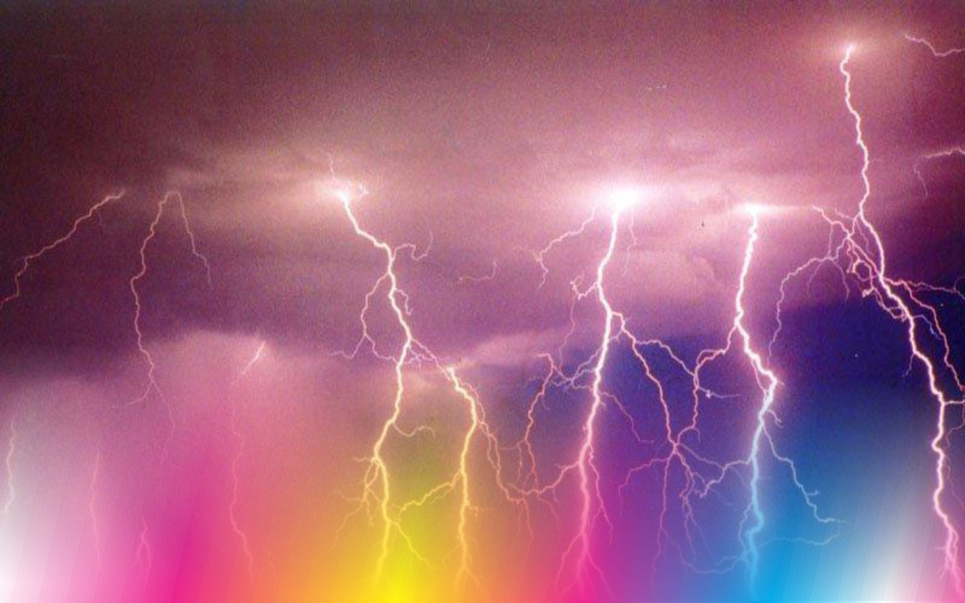 1920x1080 Thunder Tag - Nature Thunder Sky Storm Night Flash Lightning Wallpapers Hd Free for HD 16