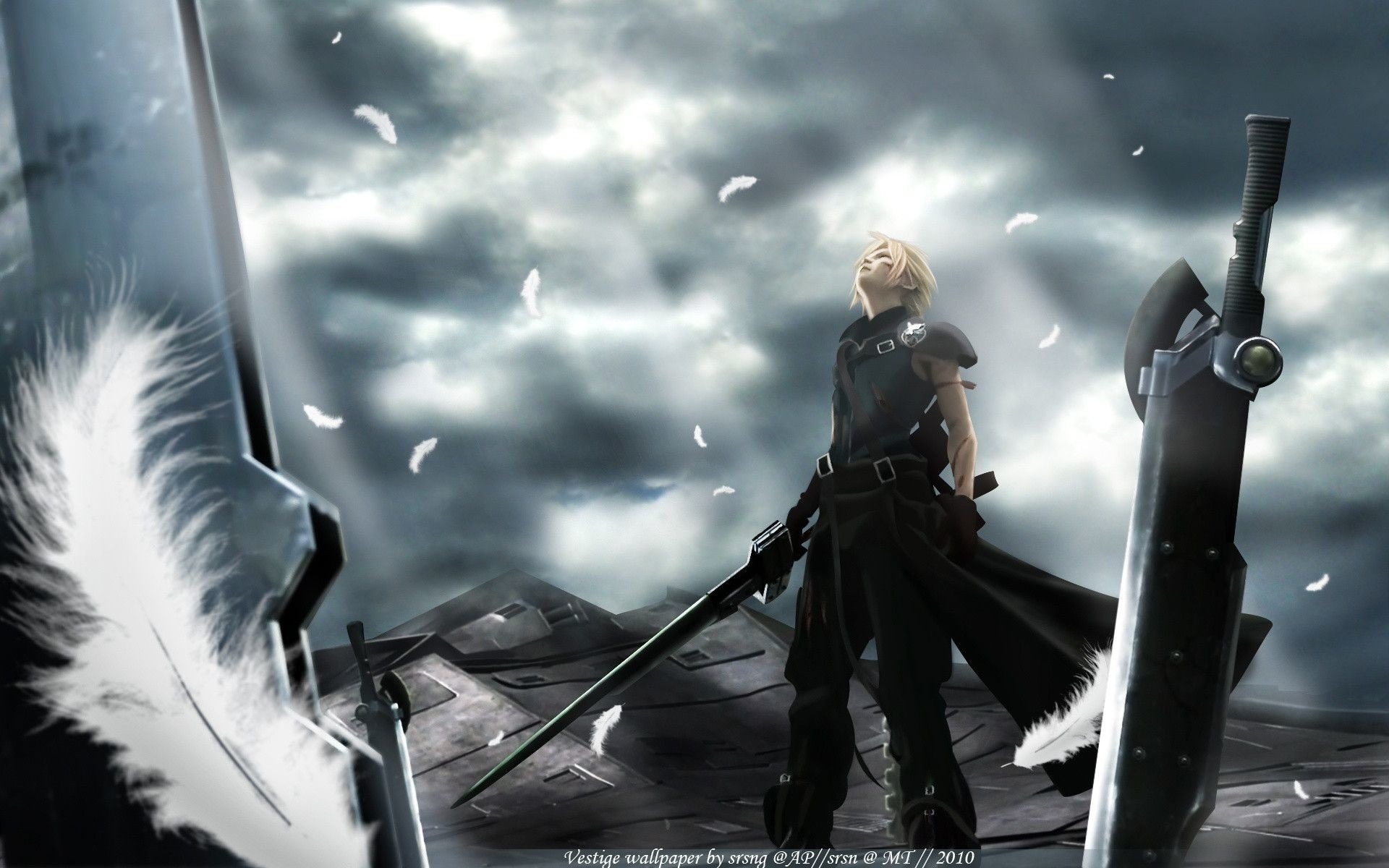 1920x1200 ... ff7 advent children wallpaper 20 ...