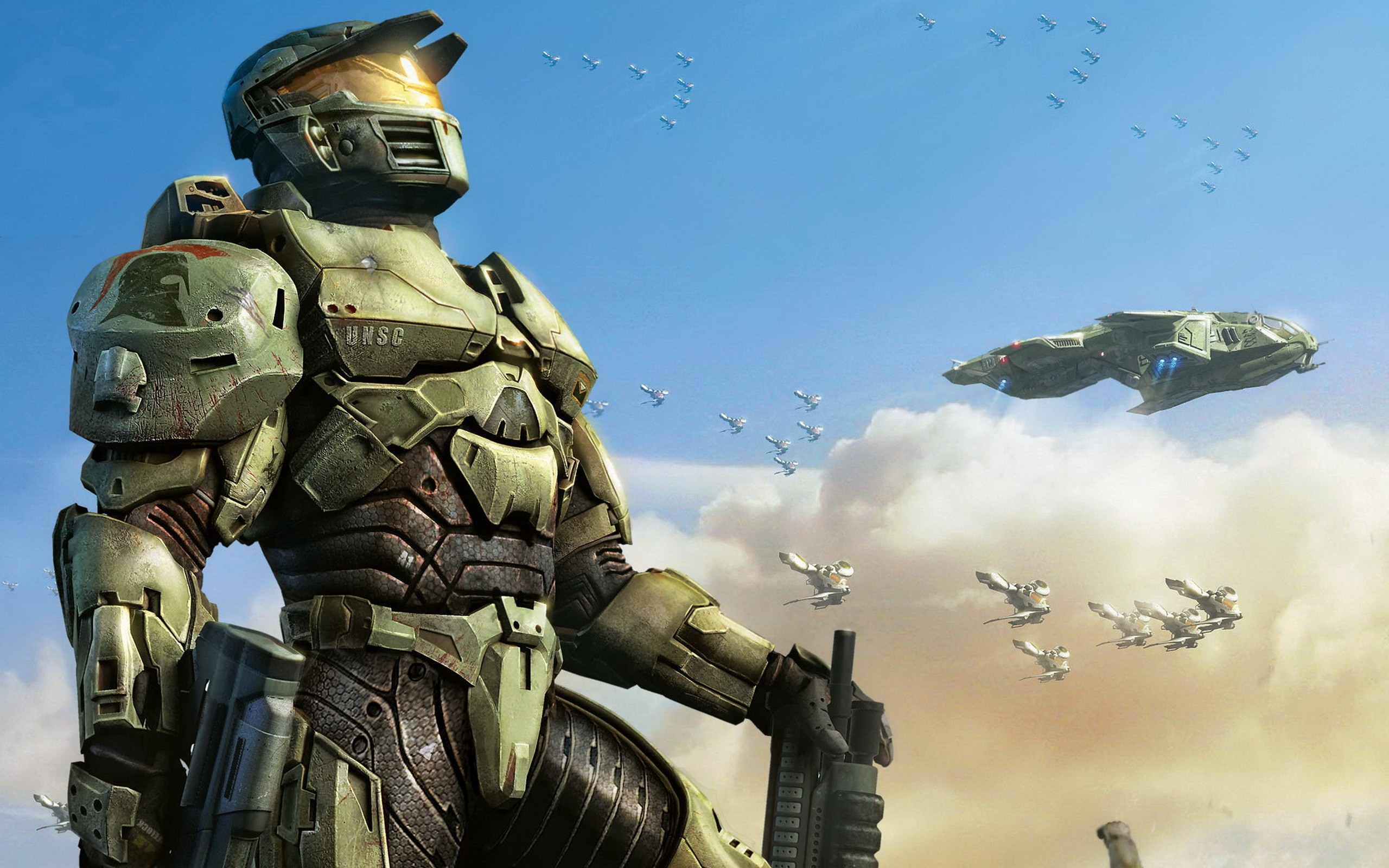 2560x1600 Halo Wars New Game Wallpapers