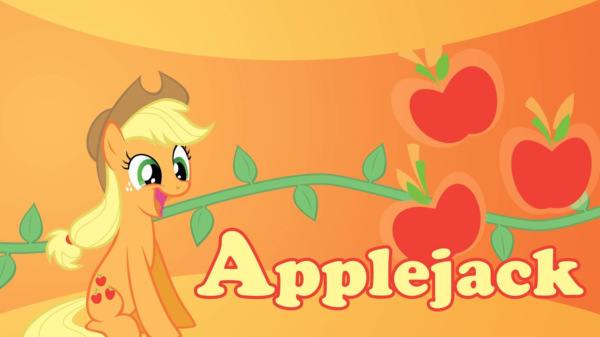 1920x1080 my little pony friendship is magic applejack | Applejack Wallpaper - My  Little Pony: Friendship