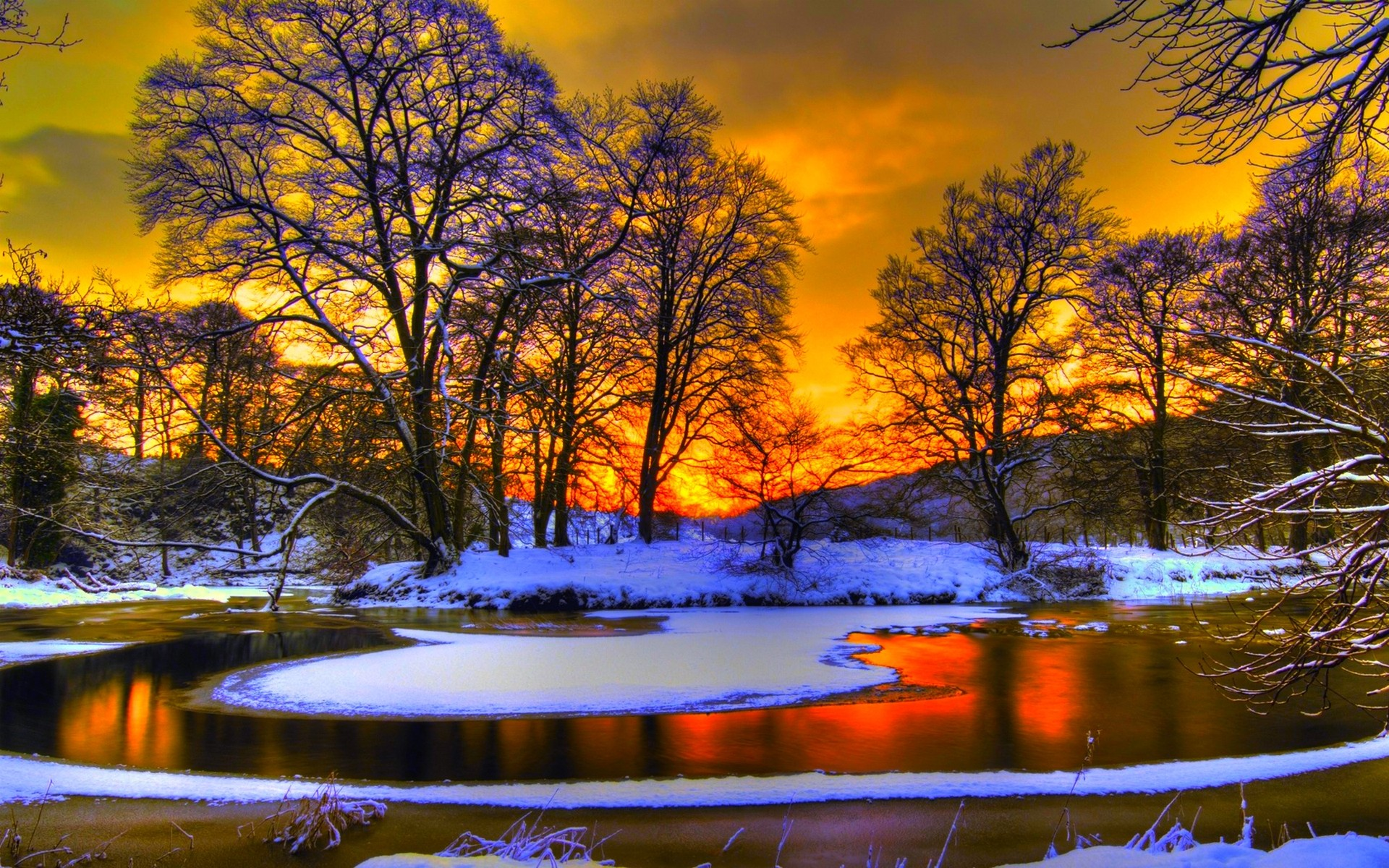Wallpaper Background Gallery: Winter Pictures For Desktop Background (69+ Images