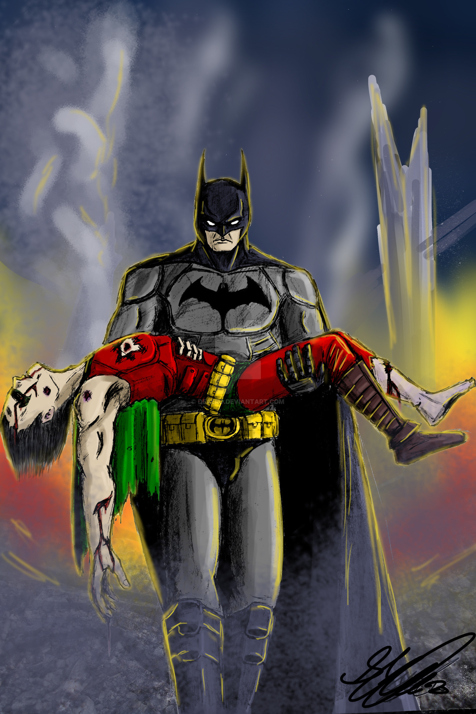 1600x2400 ... Death of Jason Todd by DeAeRO