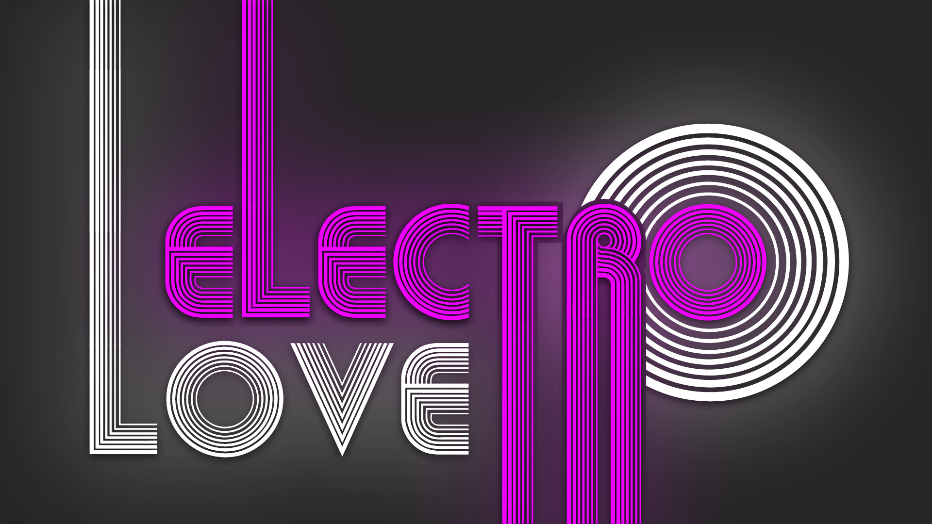 1920x1080 Love Electro Music