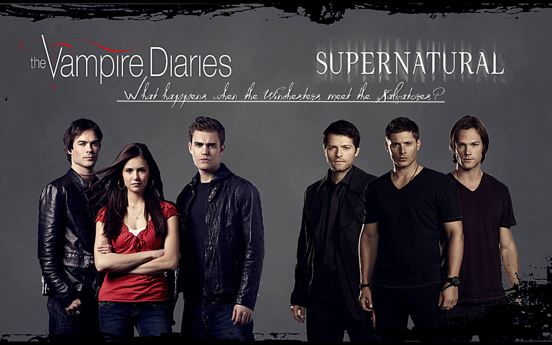 1920x1200 Supernatural vampire diaries wallpaper.