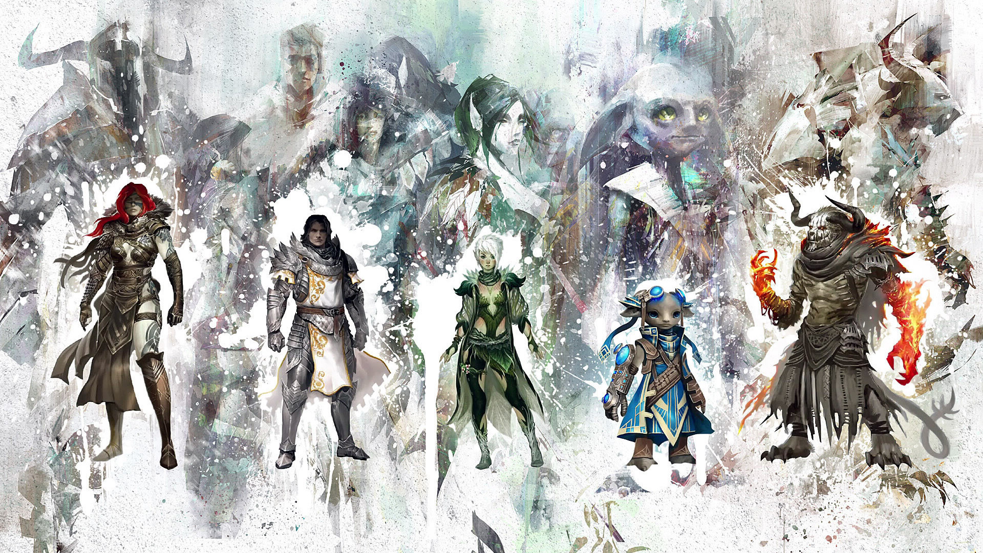 1920x1080 Free Guild Wars 2 Wallpaper in