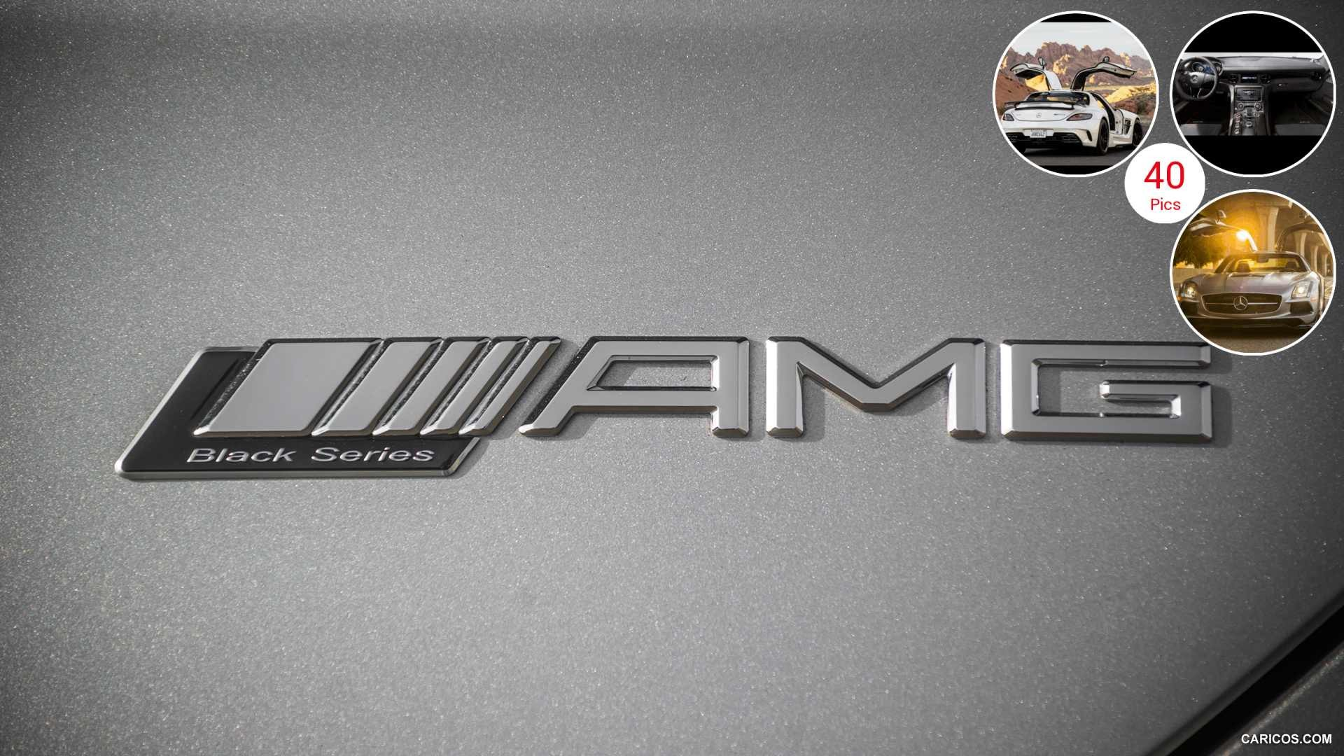 1920x1080  2014 Mercedes Benz SLS AMG Coupe Black Series (US Version) |  Badge .
