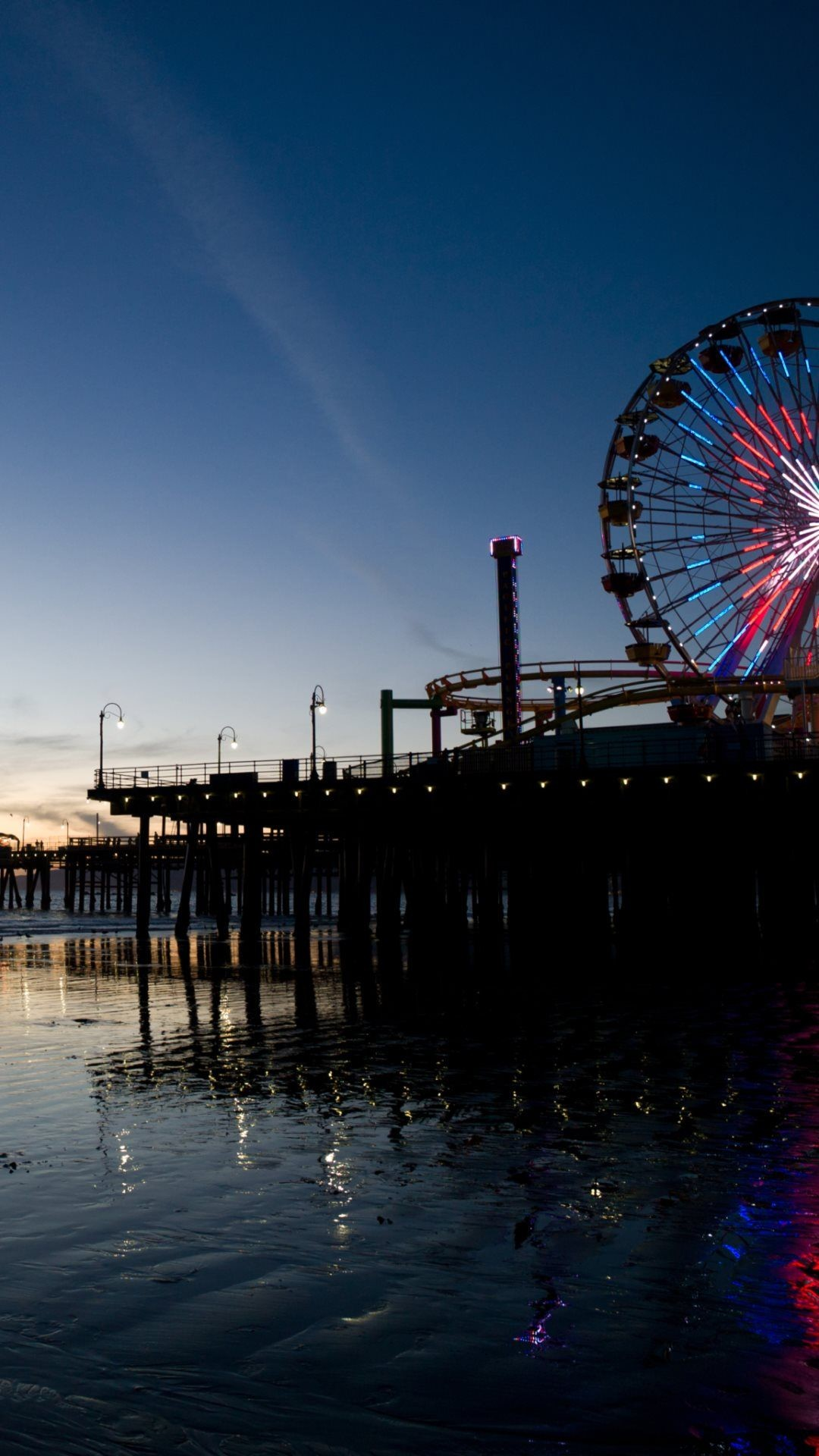 Santa Monica Hd Wallpaper 65 Images