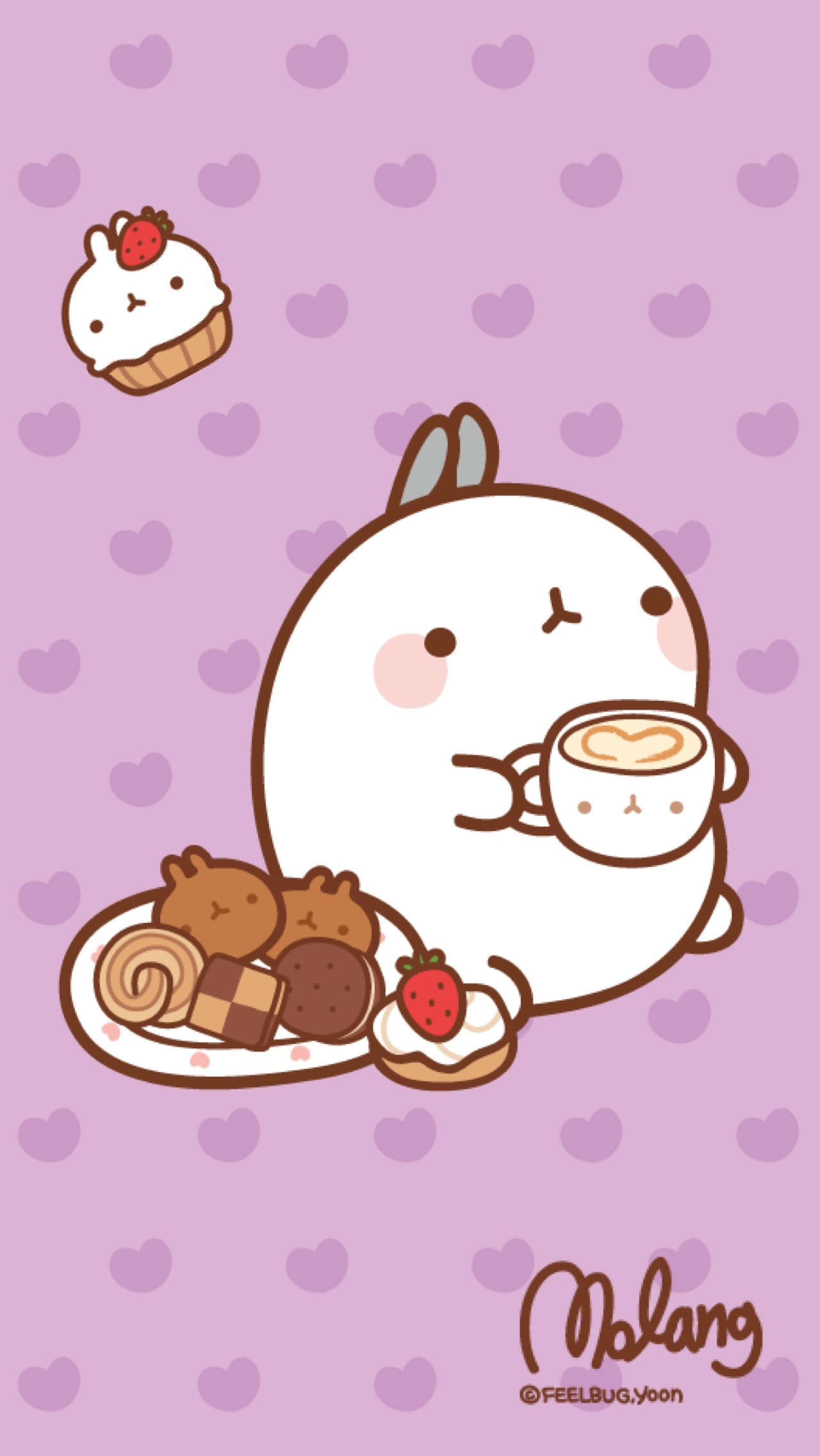 Cute kawaii wallpaper for iphone 82 images - Kawaii food wallpaper ...