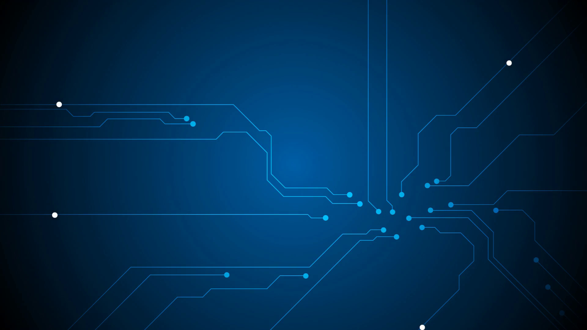 1920x1080 Blue tech circuit board technology animated background. Video graphic  design HD  Motion Background - VideoBlocks
