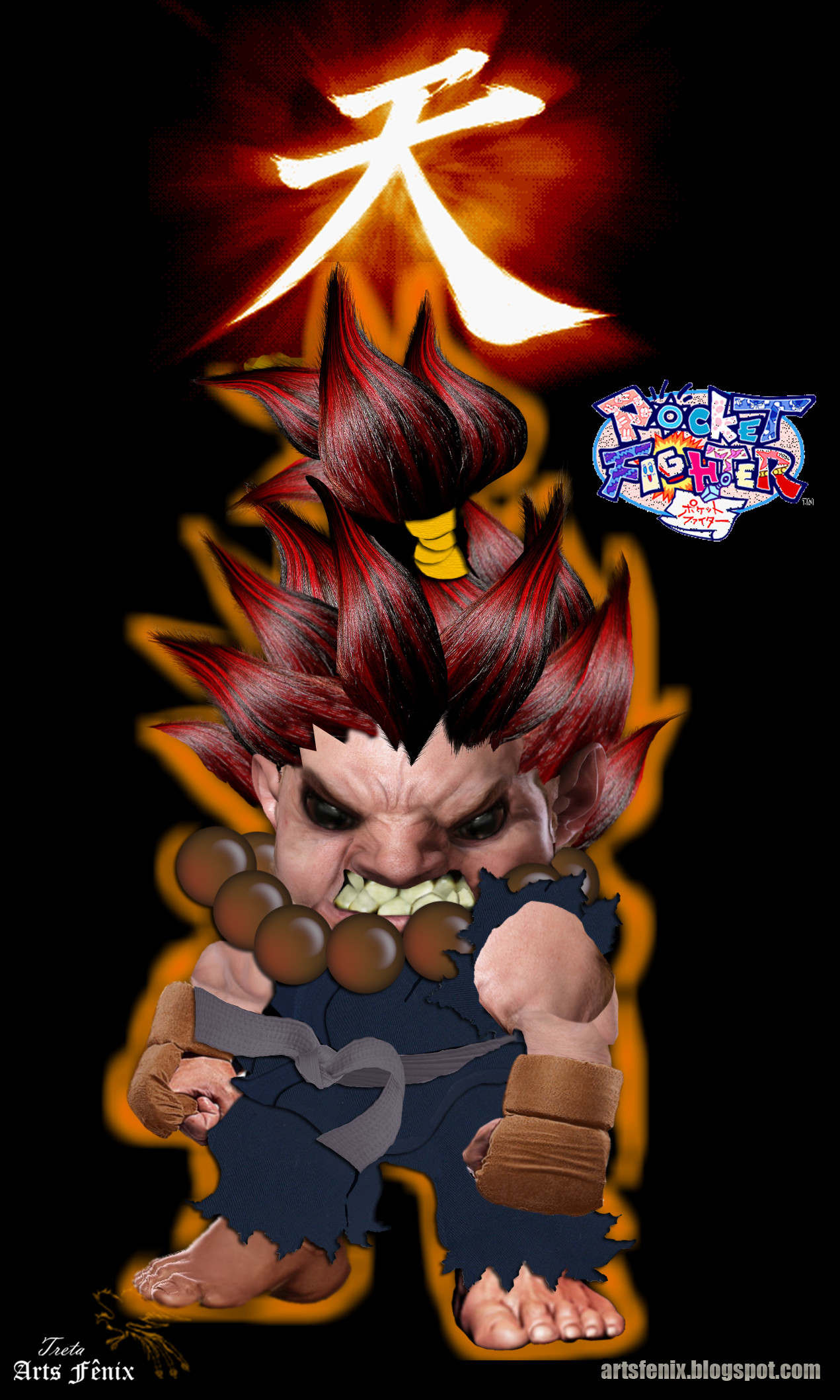 1271x2117 Street Fighter images akuma pocket HD wallpaper and background photos