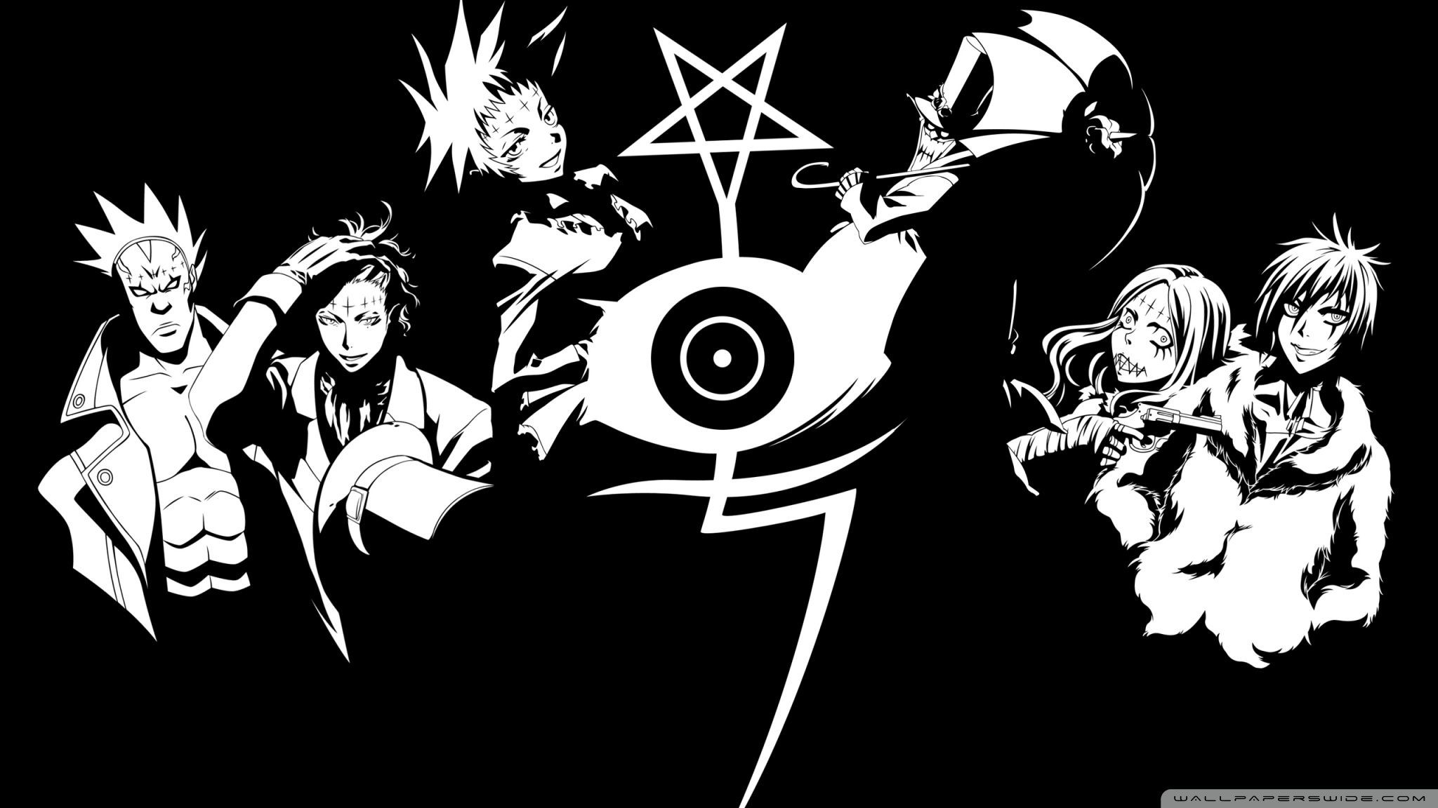 2048x1152 D.Gray-Man HD Wallpapers and Backgrounds