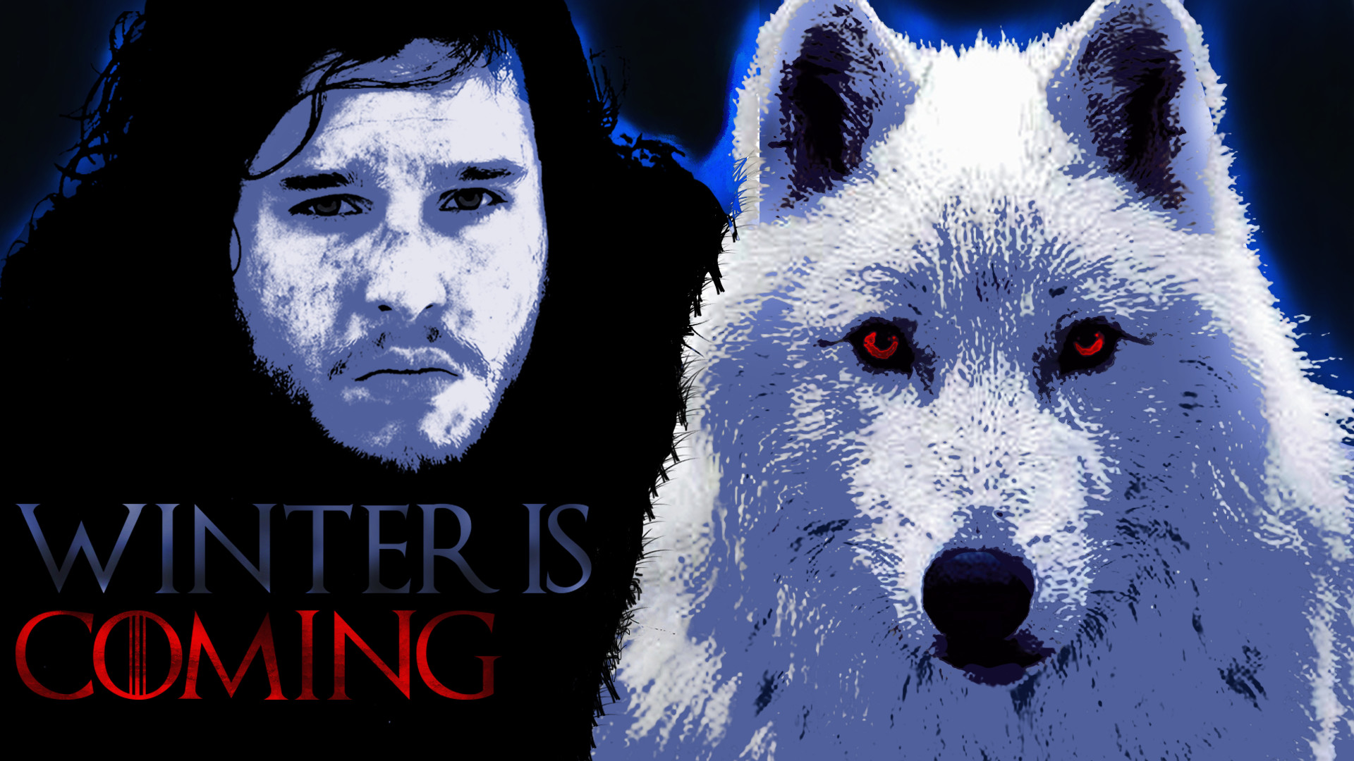 1920x1080 John Snow and Ghost
