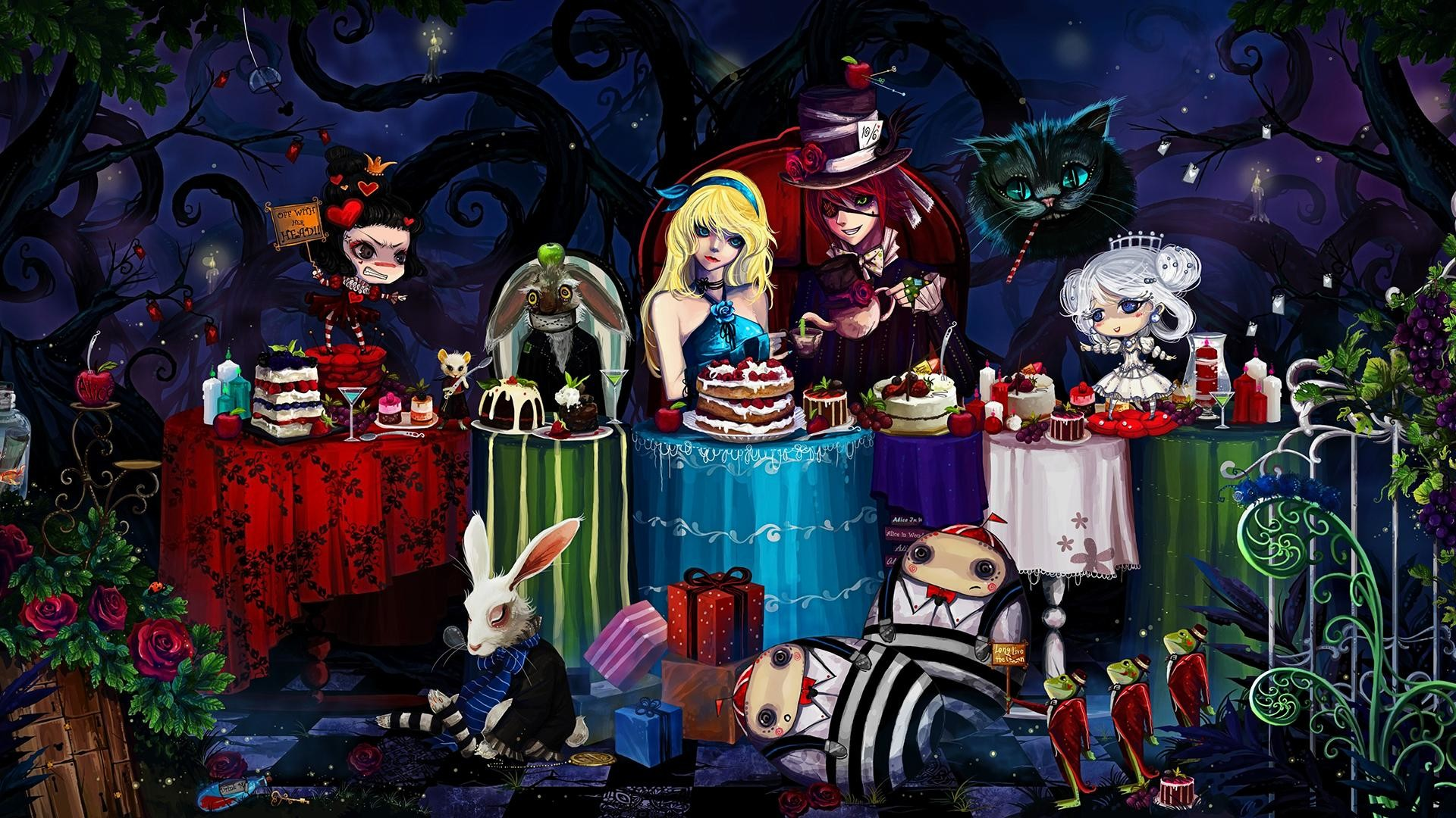 1920x1080 wallpaper.wiki-Free-Download-Alice-in-Wonderland-Wallpaper-
