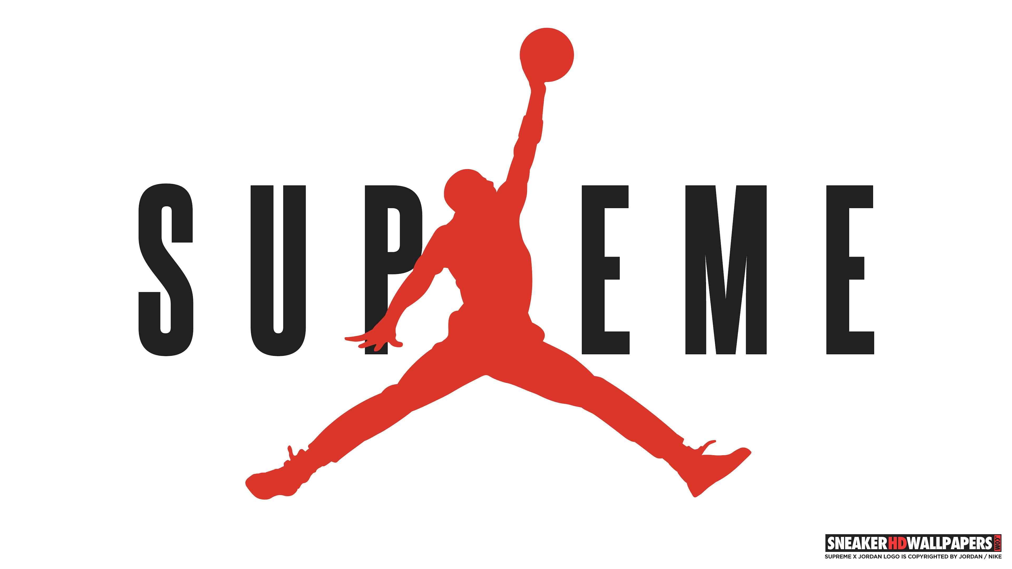 3840x2160 Download links: Supreme x Jordan 4K ...