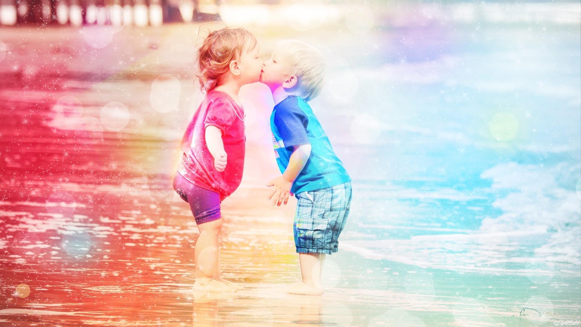 baby kiss wallpaper hd 1080p free download