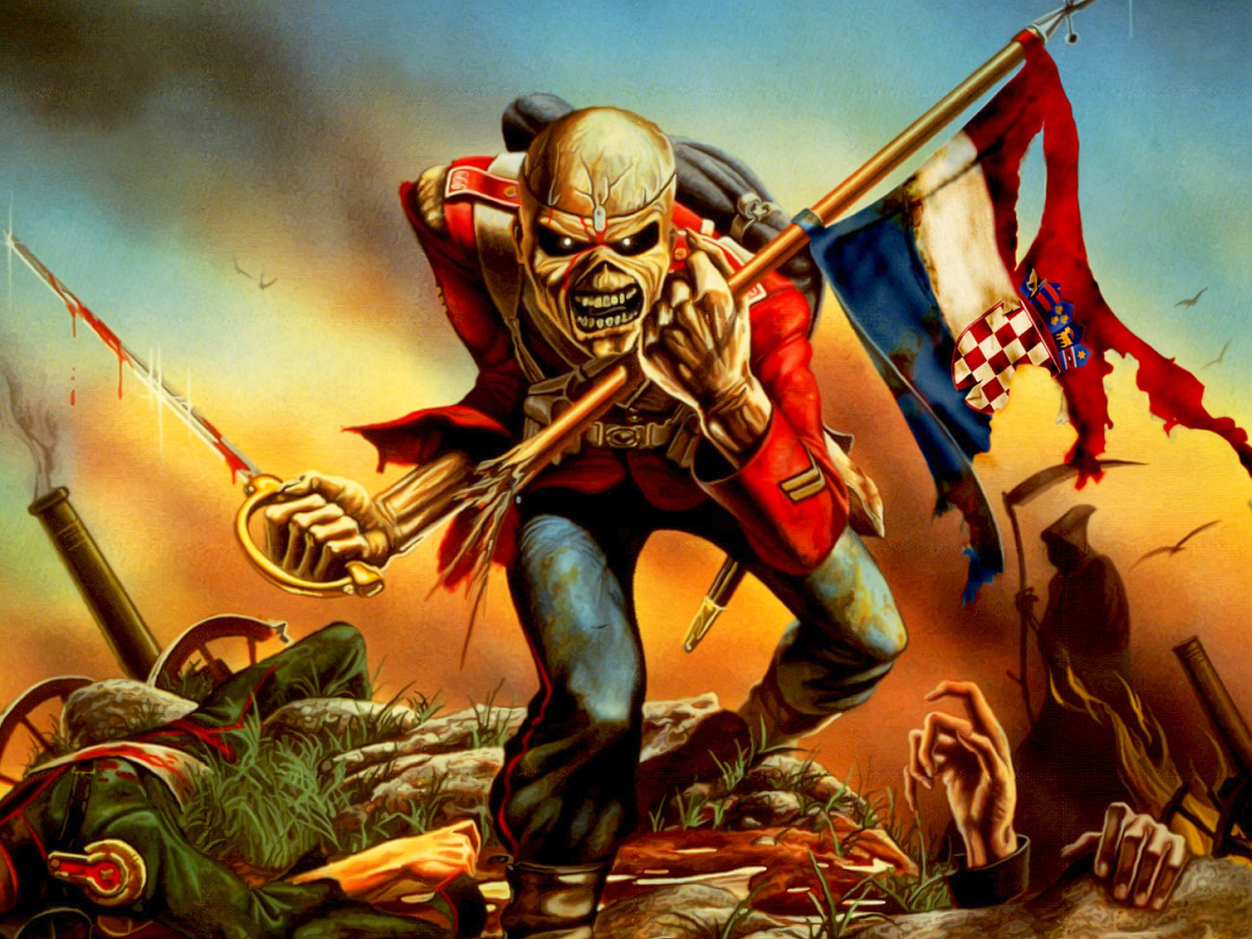 Iron Maiden Wallpaper 1920x1080 (79+ images)