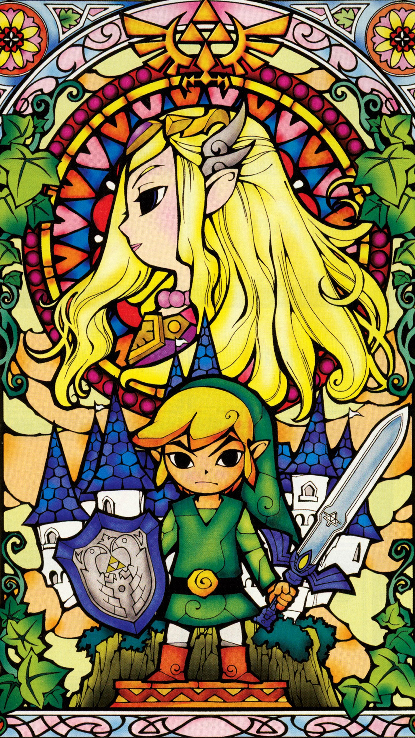 1440x2560 Mobile Phone The legend of zelda Wallpapers HD Desktop ×