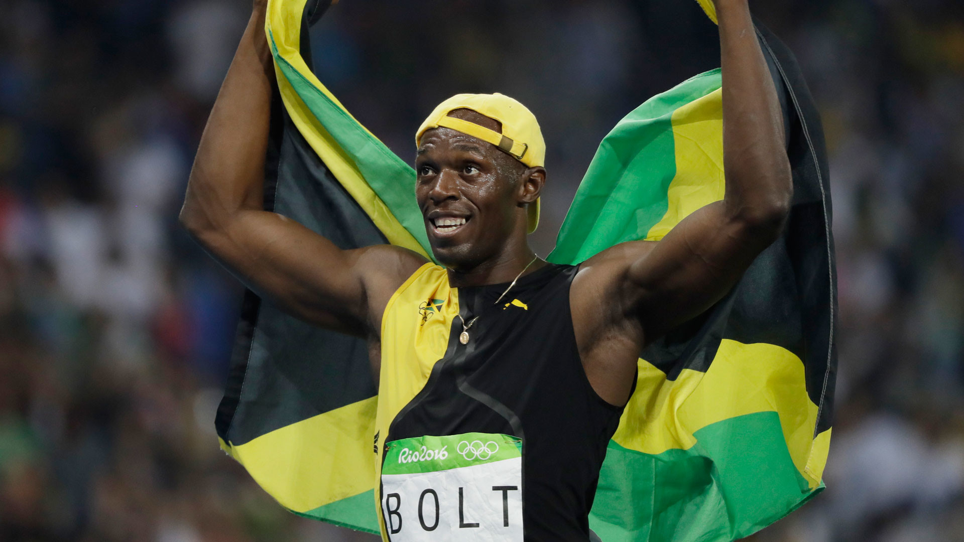 1920x1080 Usain Bolt wins unprecedented third Olympic 100m gold medal | NBC Olympics