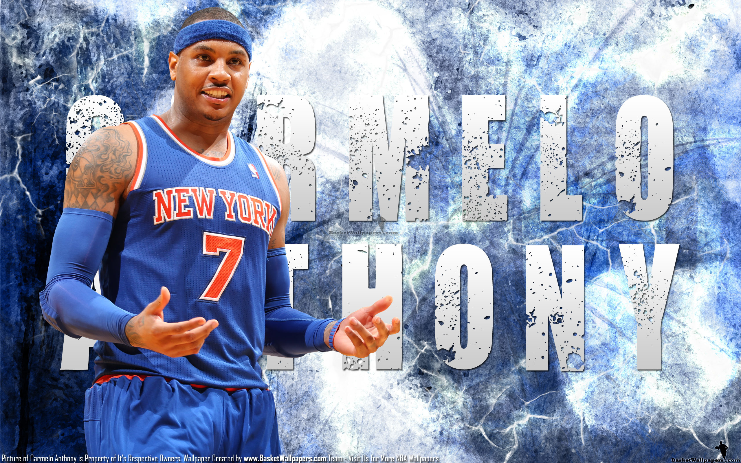 2560x1600 Carmelo Anthony Wallpapers 2016
