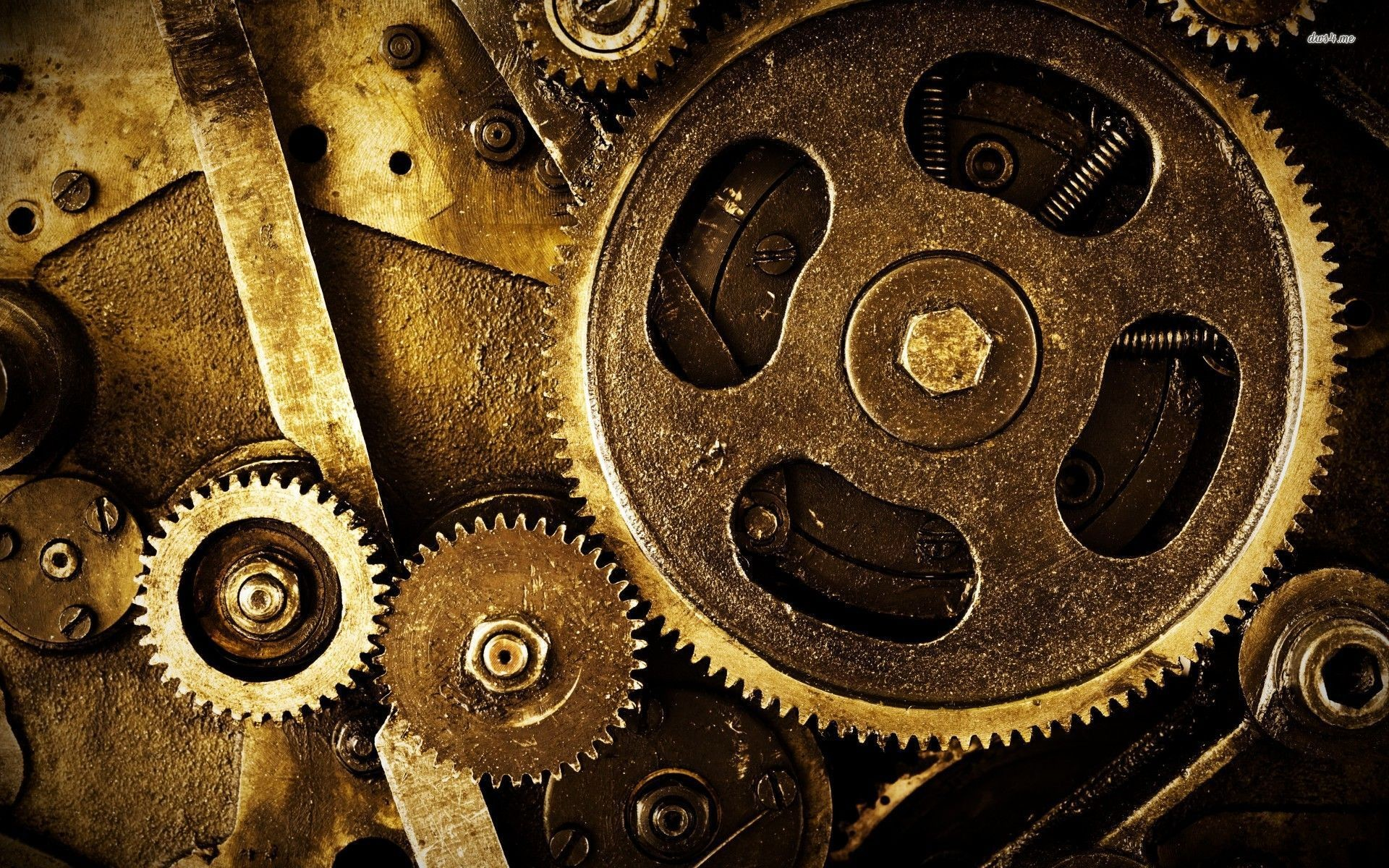 1920x1200 Mechanical Gears Wallpaper Hd Gears a machine is any device