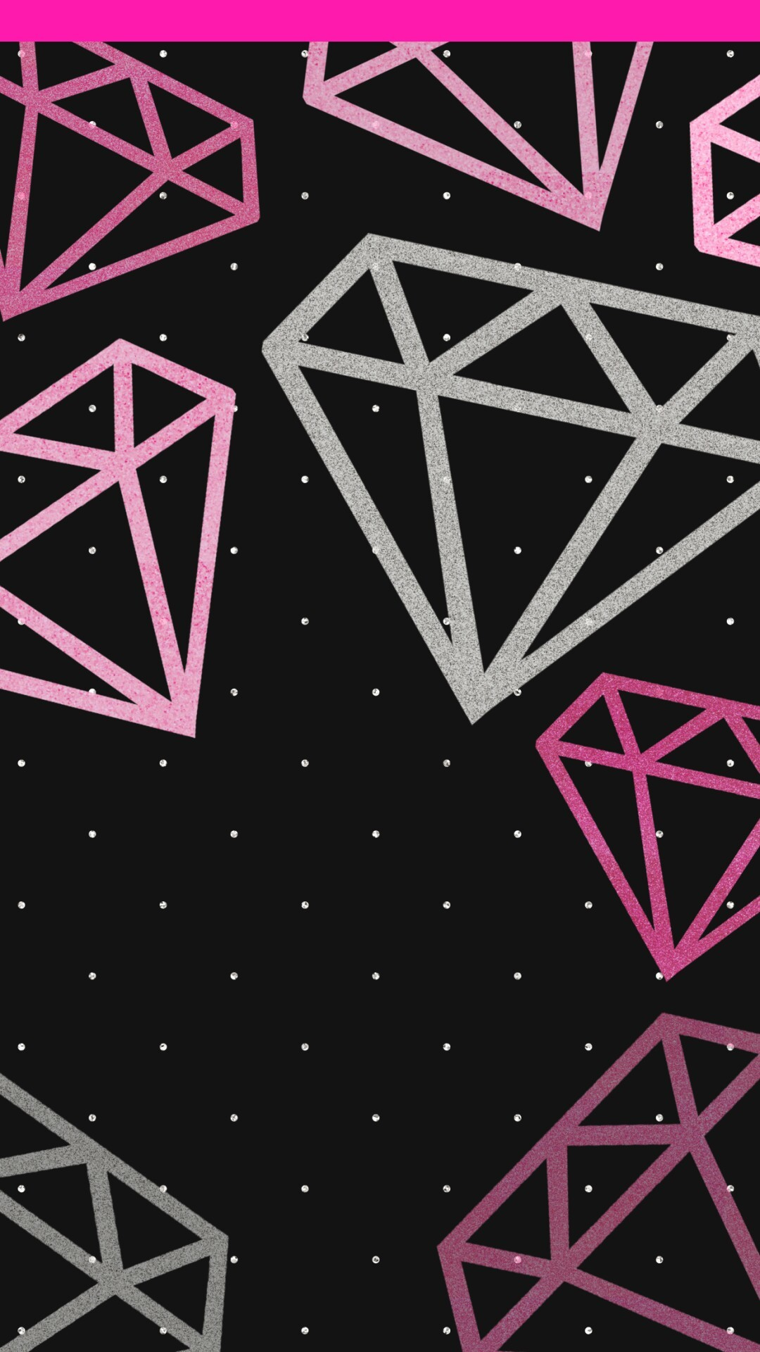 Pink Diamonds Wallpaper 69 Images