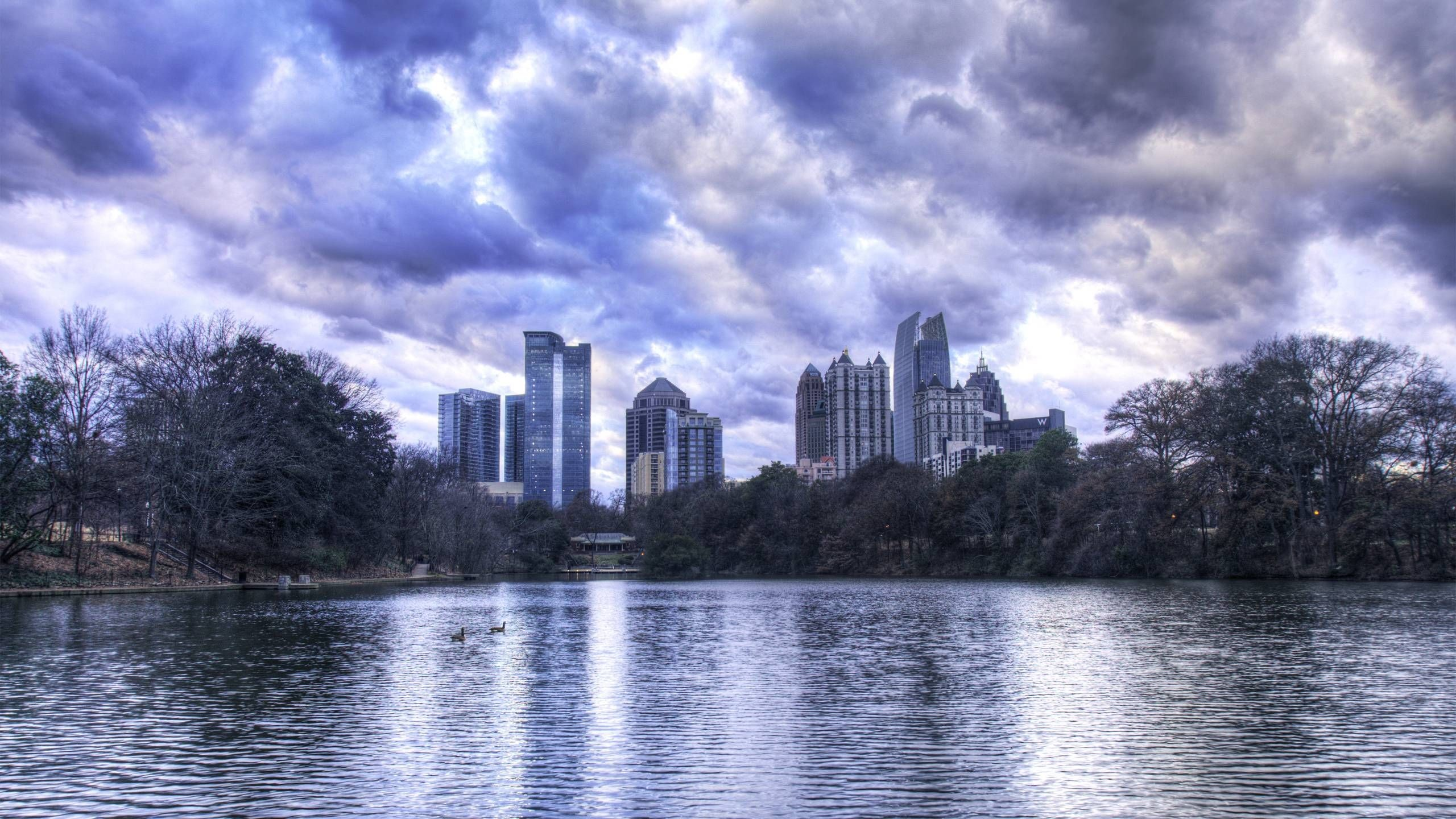 2560x1440 Atlanta Ga Skyline Wallpaper | Download Wallpapers
