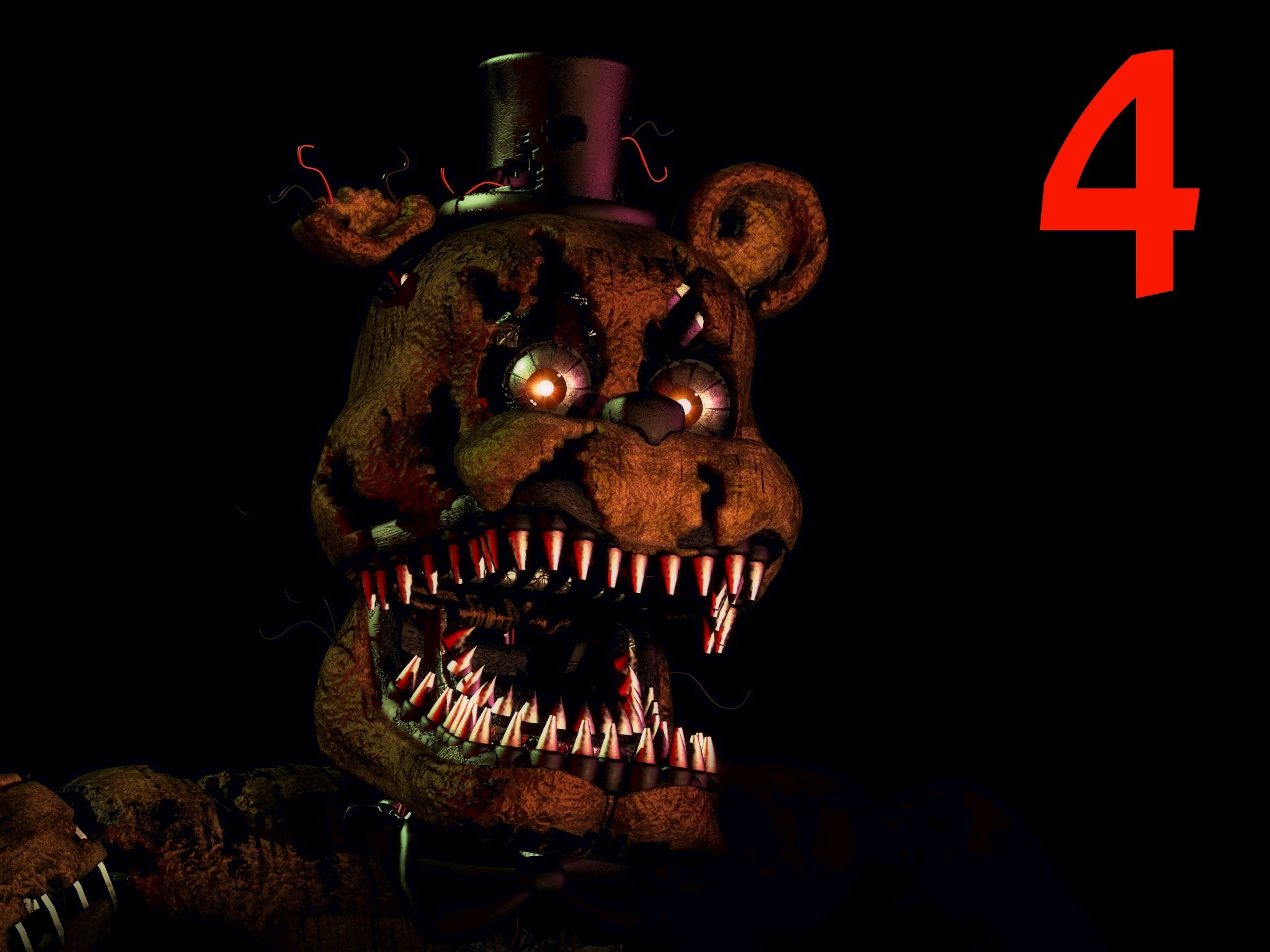 2048x1536 FNAF 4 IOS IS OUT!!