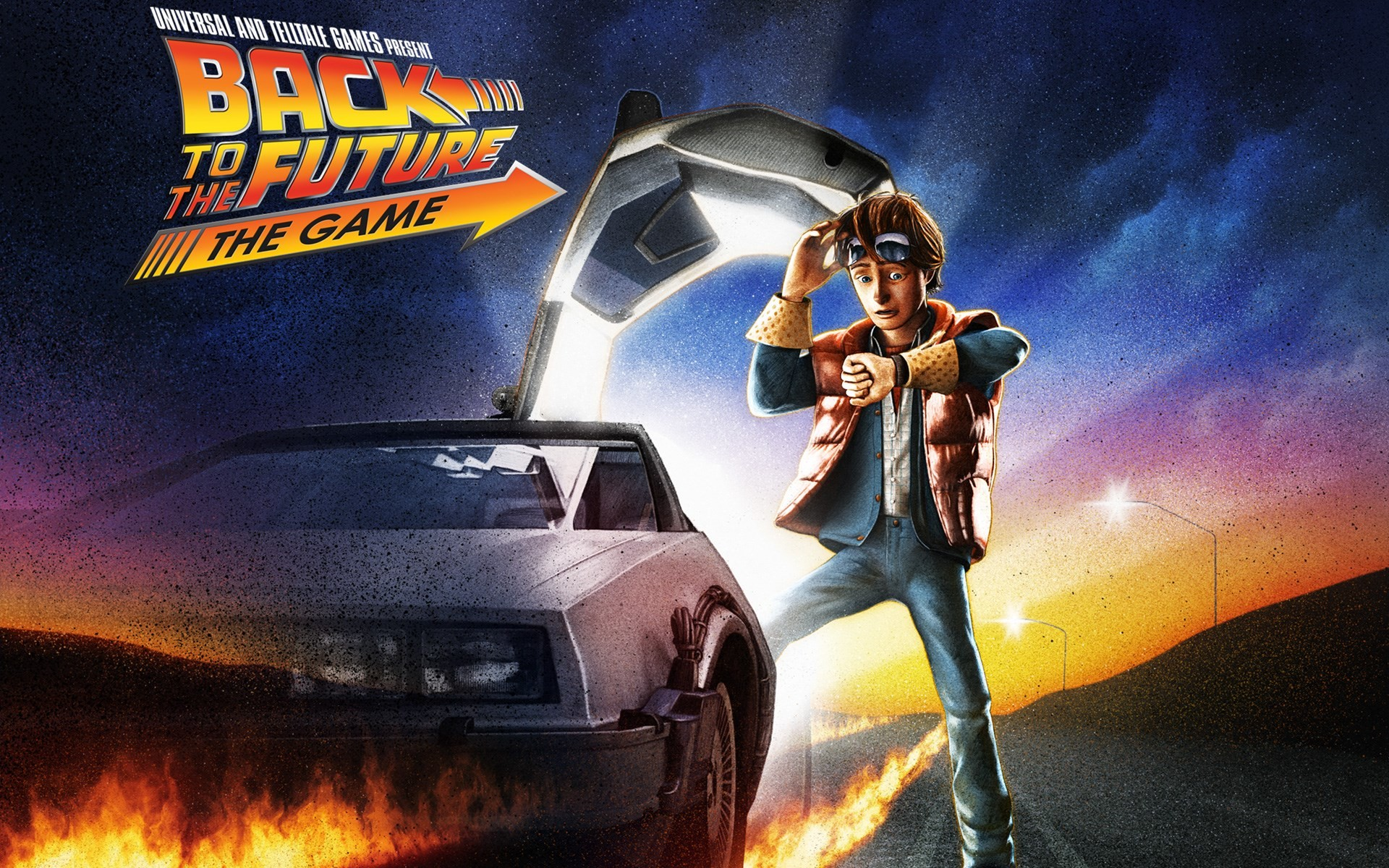 1920x1200 back to the future ...