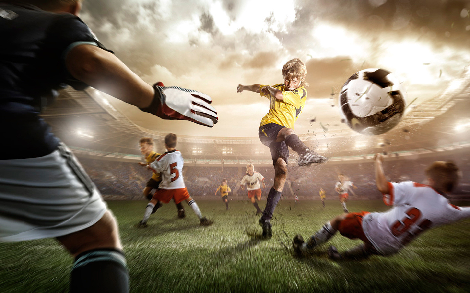 1920x1200 Cool Soccer Backgrounds Wallpaper 1920×1200