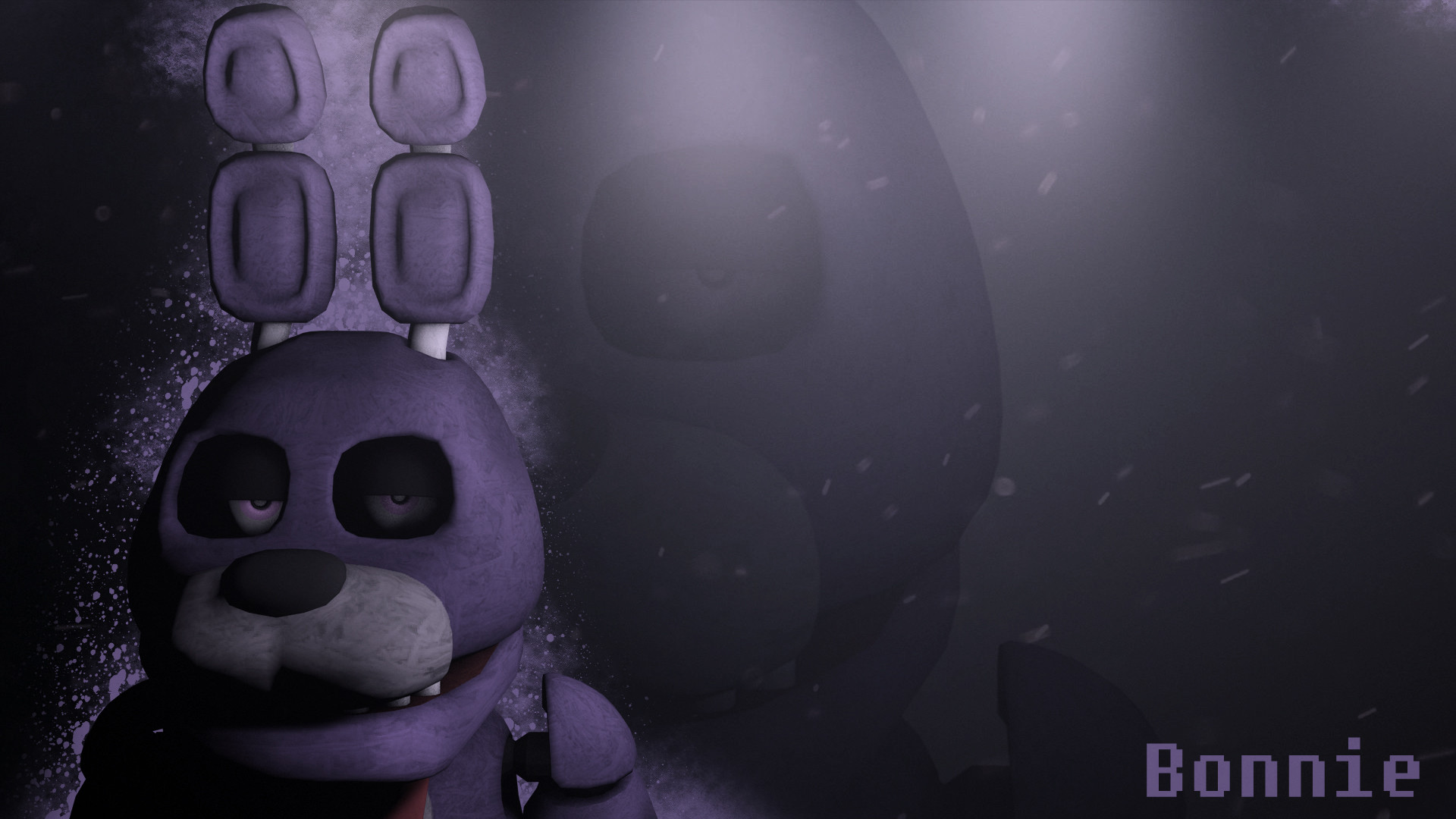1920x1080 ... Five Nights at Freddy's Bonnie Wallpaper DOWNLOAD by NiksonYT
