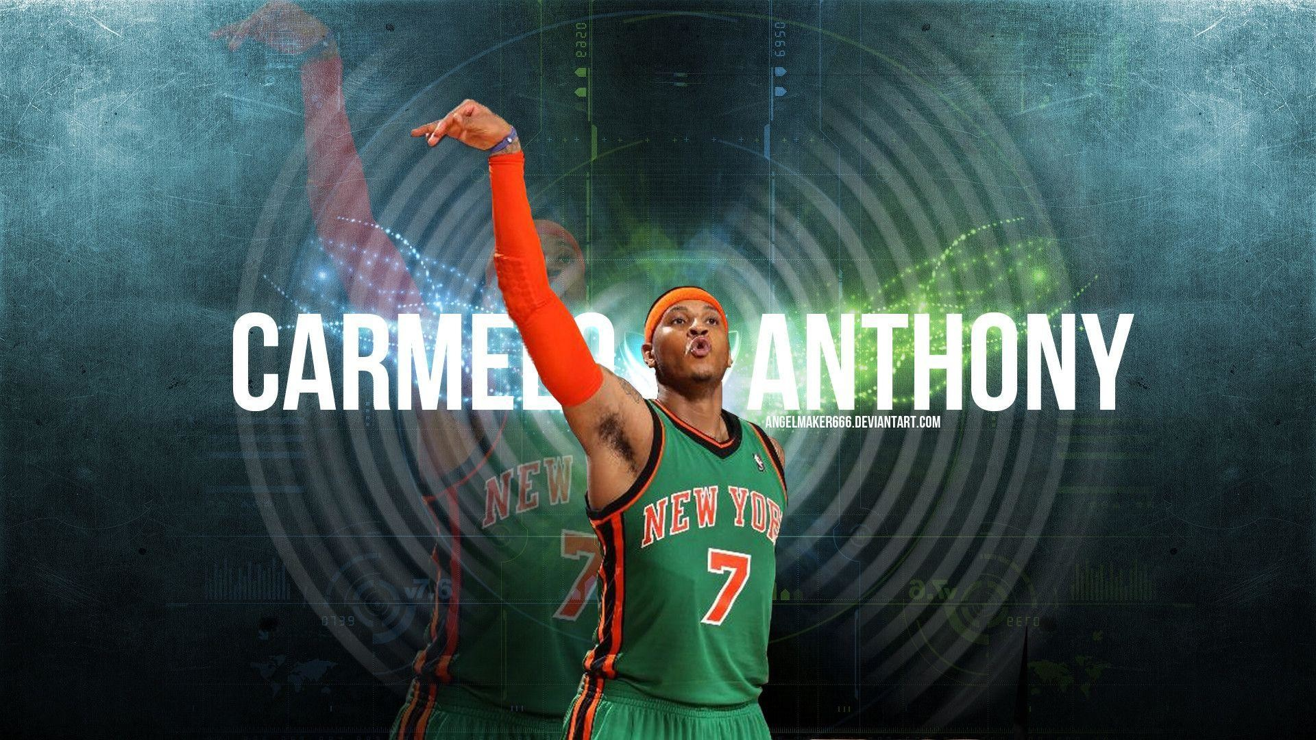 1920x1080 Carmelo Anthony Knicks Wallpapers - Wallpaper Cave Carmelo Anthony Logo  Wallpaper