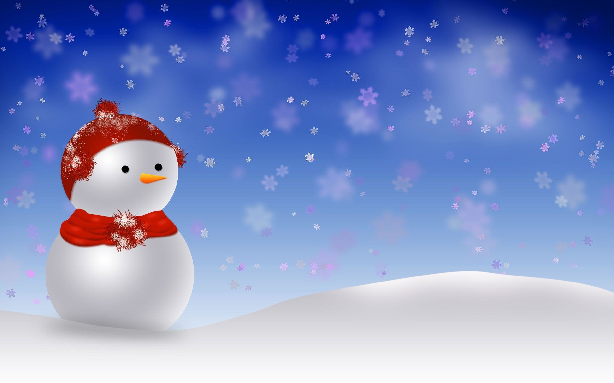 2560x1600 Cute Animated Merry Christmas Desktop Background Wallpaper .