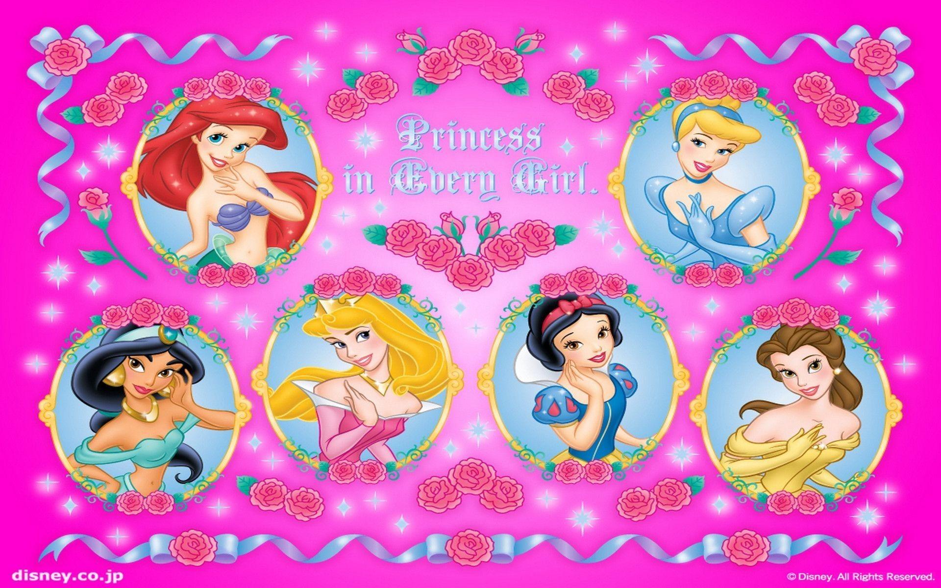 Disney princess backgrounds 57 images - Images princesse ...