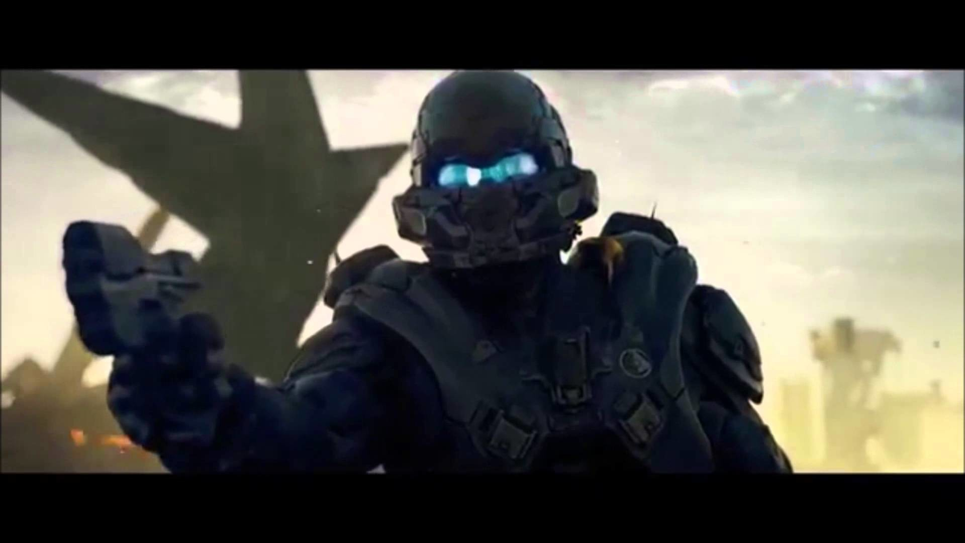 1920x1080 What Master Chief really wanted to say - Halo 5 Live Action Trailer