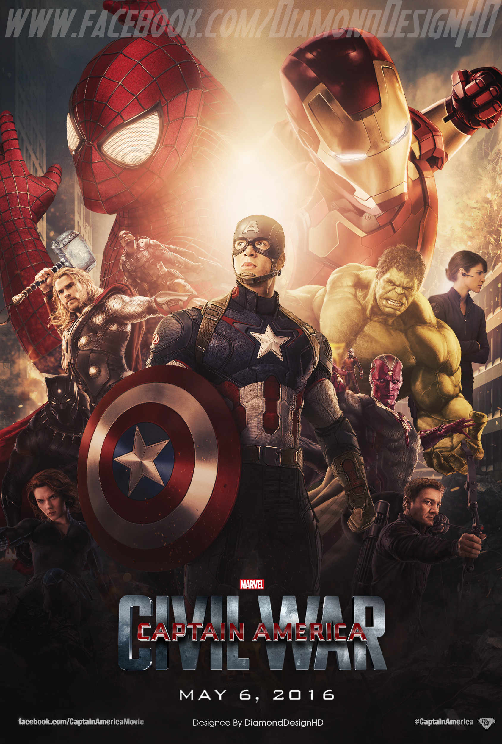 Civil War Marvel Hd Wallpaper 70 Images