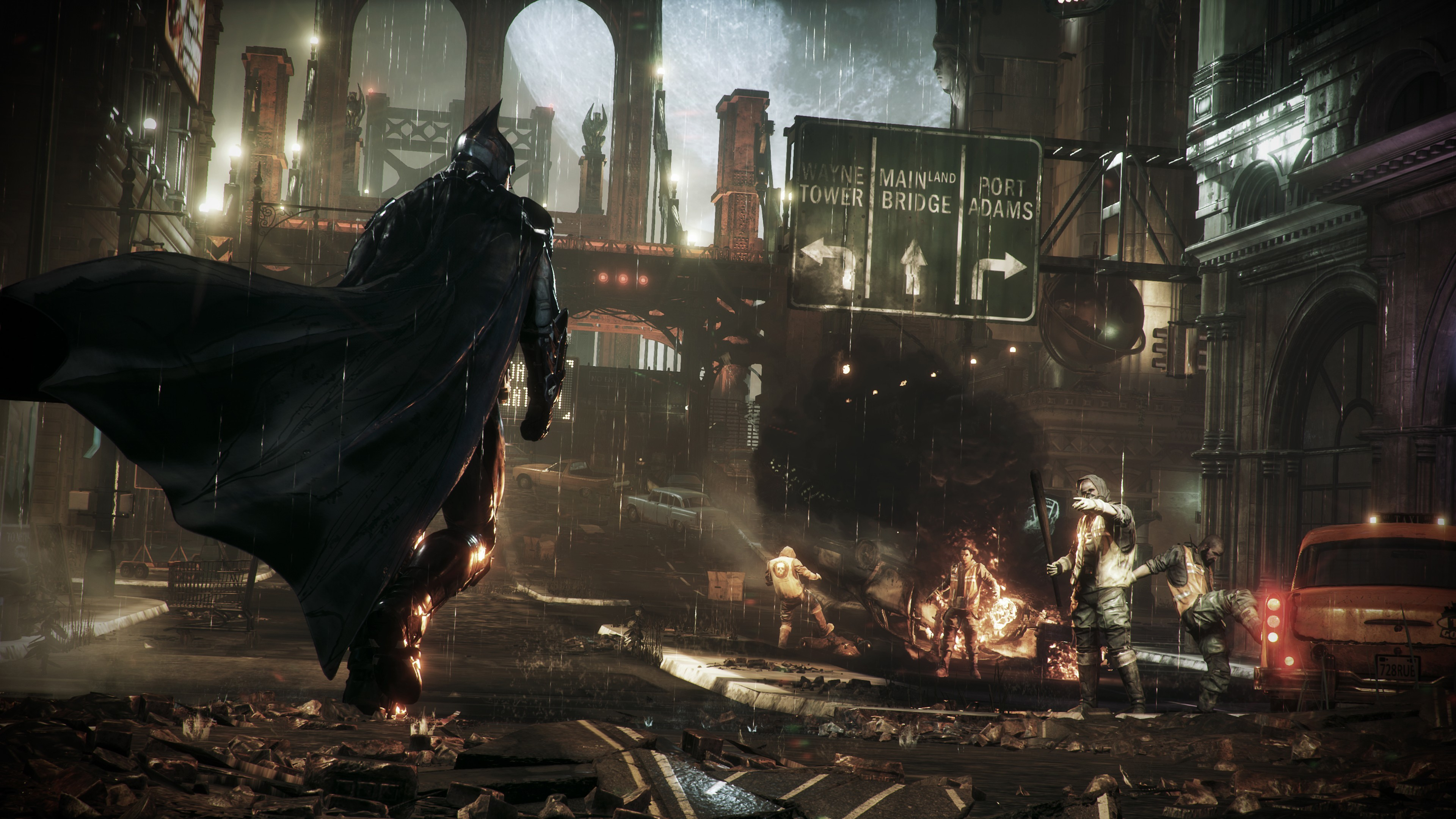 3840x2160 Batman Arkham Knight A HD Wallpaper