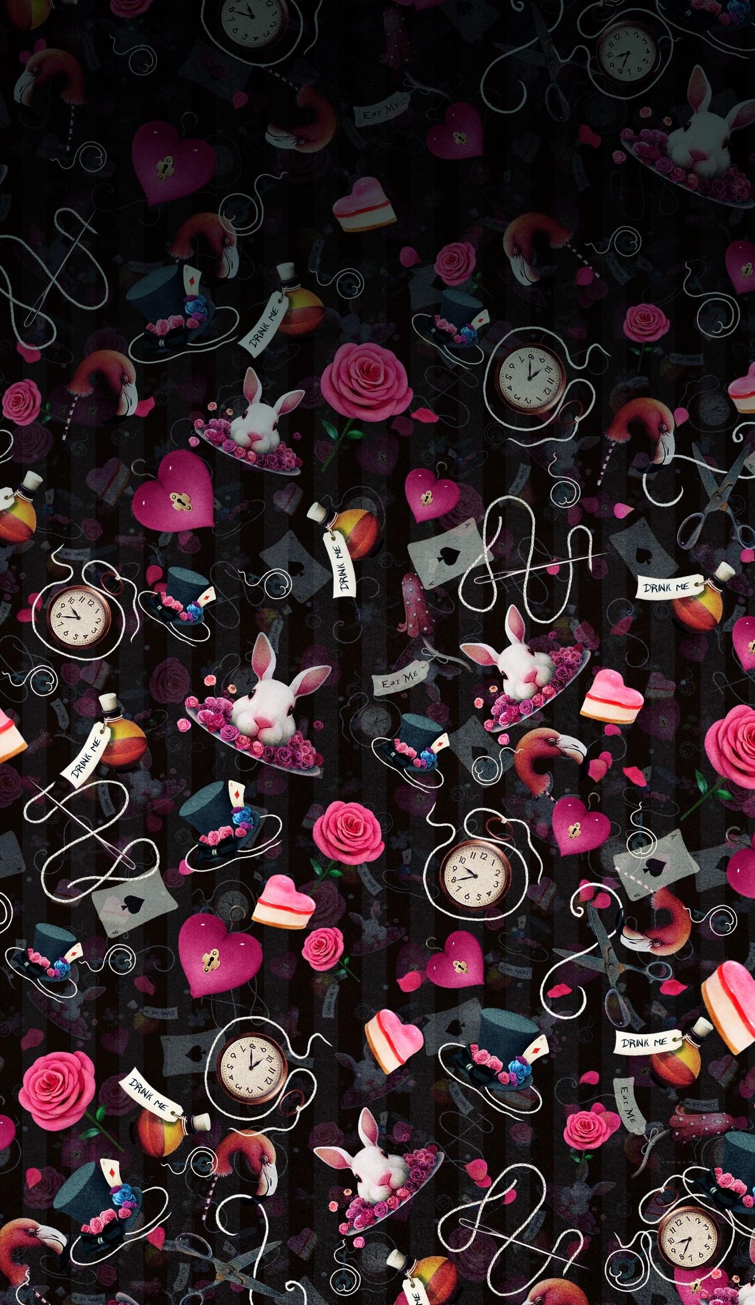 Alice in wonderland wallpaper iphone 65 images - Free wallpaper alice in wonderland ...