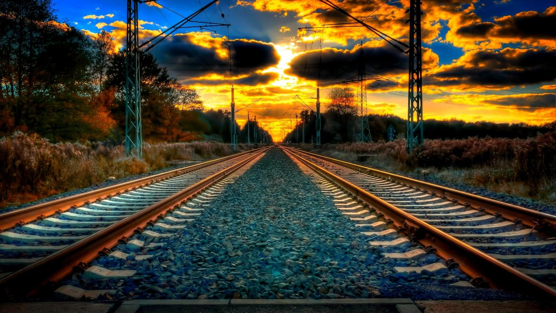 HD Train Tracks Wallpaper 57 Images